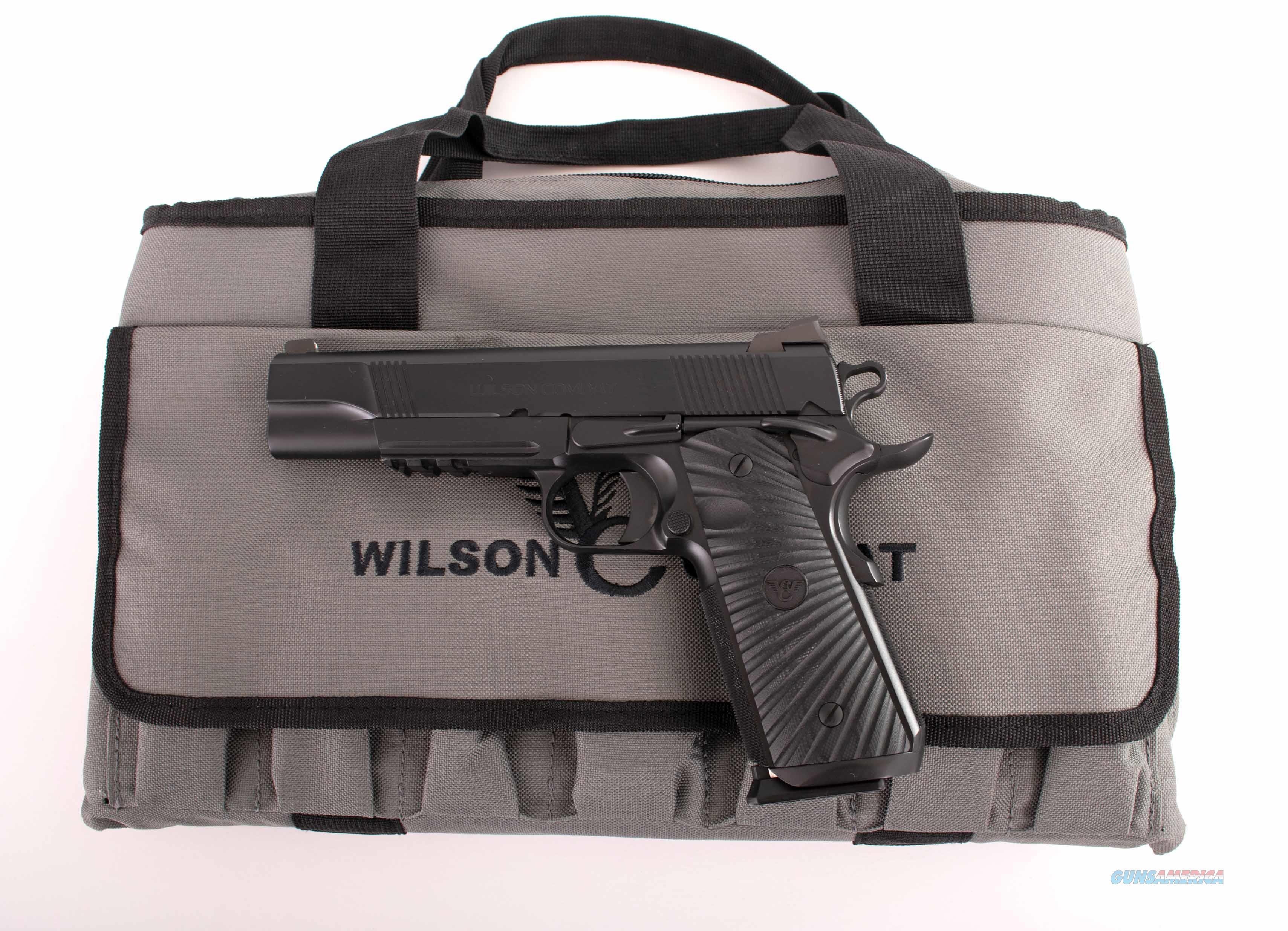 Wilson Combat .45acp – PROTECTOR MODEL, NIGHT SIGHTS, AS NEW, vintage firearms inc   Guns > Pistols > Wilson Combat Pistols