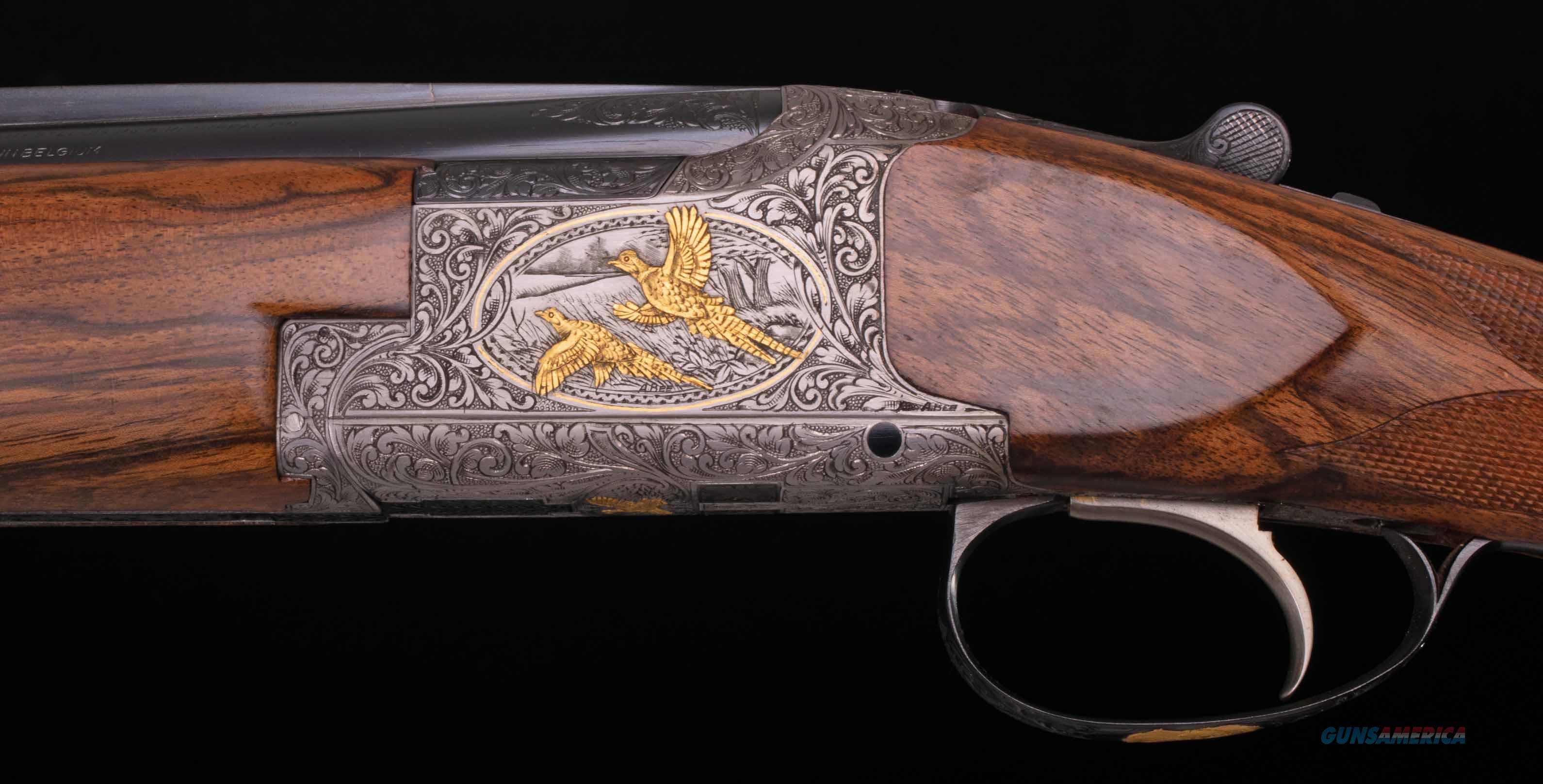 Browning Superposed 20 Gauge Shotgun – DIANA GRADE W/ GOLD, ANGELO BEE, vintage firearms inc  Guns > Shotguns > Browning Shotguns > Over Unders > Belgian Manufacture