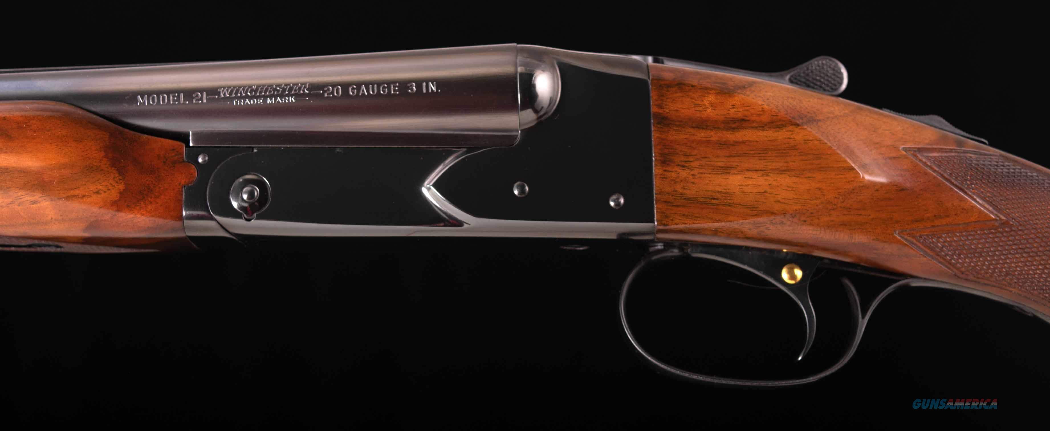 Winchester Model 21 20 Gauge – RARE!, 1 of 123 MAGNUMS!, vintage firearms inc  Guns > Shotguns > Winchester Shotguns - Modern > SxS