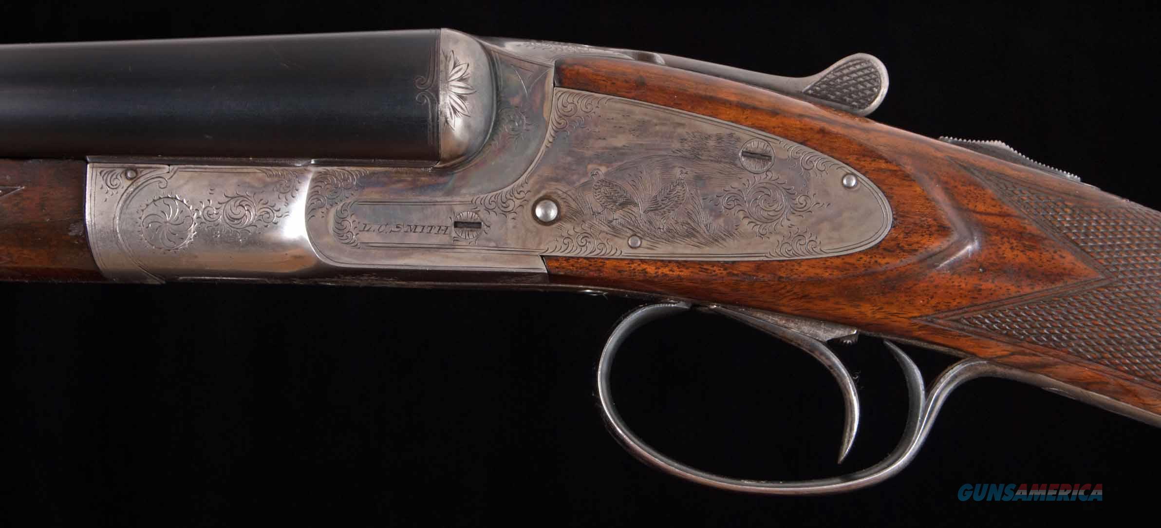 "L.C. Smith 3E 20ga - 1 OF 143, 38 WITH 30"" BARRELS 85% CASE COLOR, vintage firearms inc  Guns > Shotguns > L.C. Smith Shotguns"