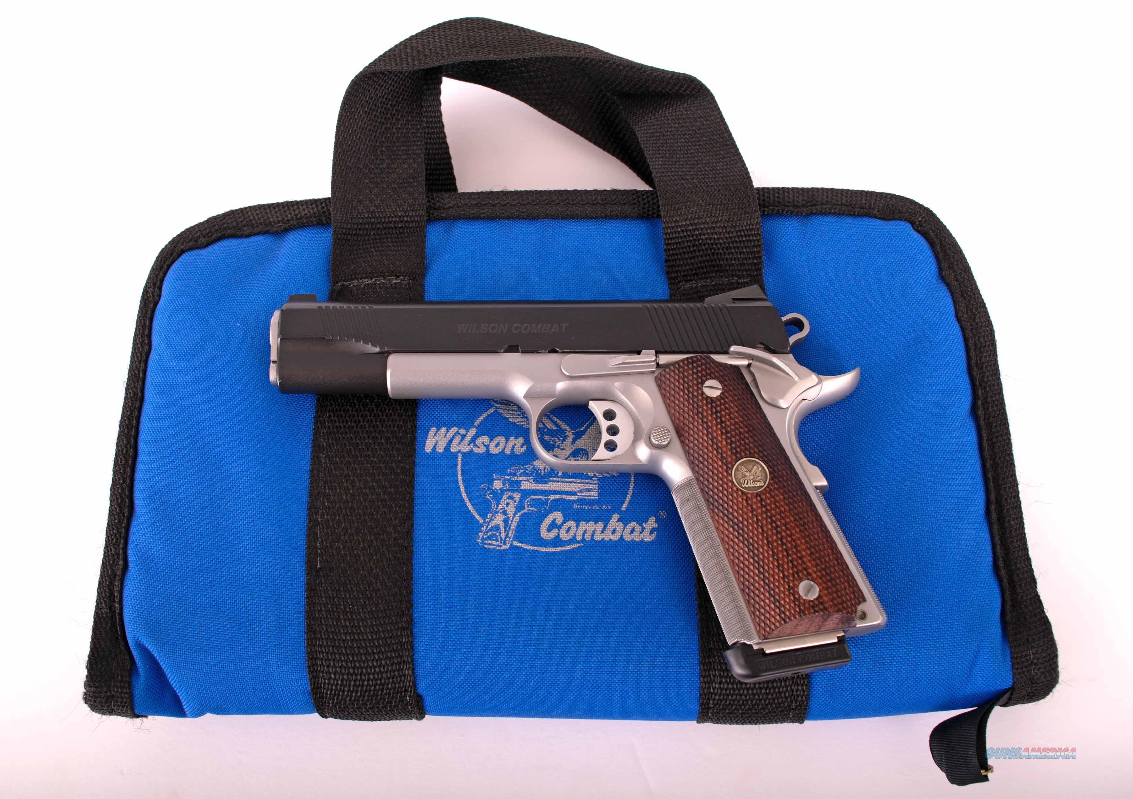 Wilson Combat .45 acp – PROTECTOR LIGHTWEIGHT, TWO-TONE, AS NEW, vintage firearms inc  Guns > Pistols > Wilson Combat Pistols