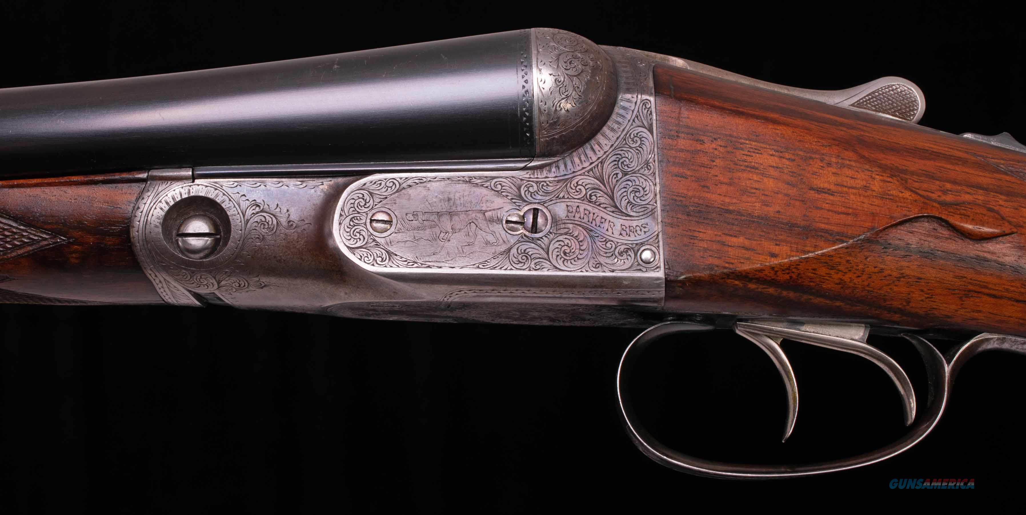 "Parker DHE 12 Gauge - ENGLISH STOCK, 32"" BARRELS, vintage firearms inc  Guns > Shotguns > Parker Shotguns"
