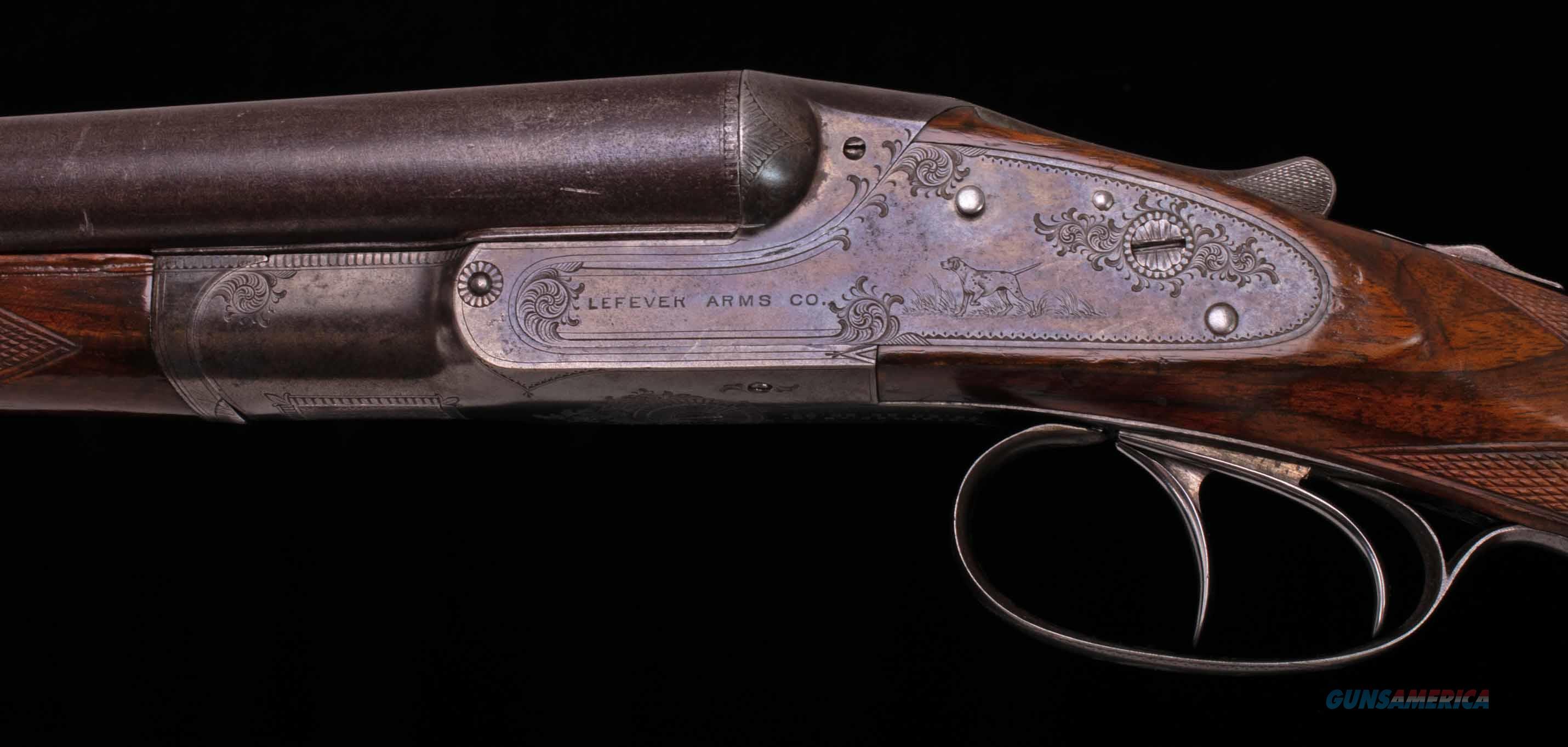 Lefever EE Grade 16 Gauge – TWO BARREL SET, RARE, 1894, vintage firearms inc