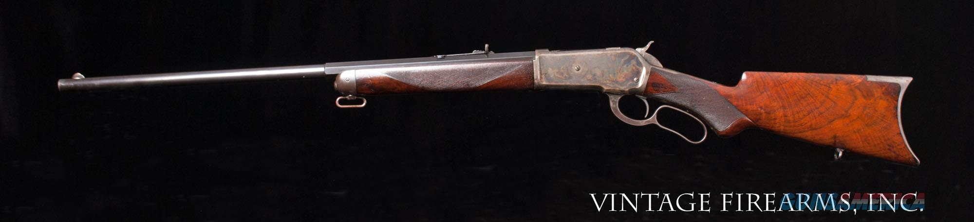 Winchester 1886 Deluxe Rifle-ADDED INFO, NEW PRICE 45-90, DOCUMENTED, 95% FACTORY COLORS   Guns > Rifles > Winchester Rifles - Pre-1899 Lever