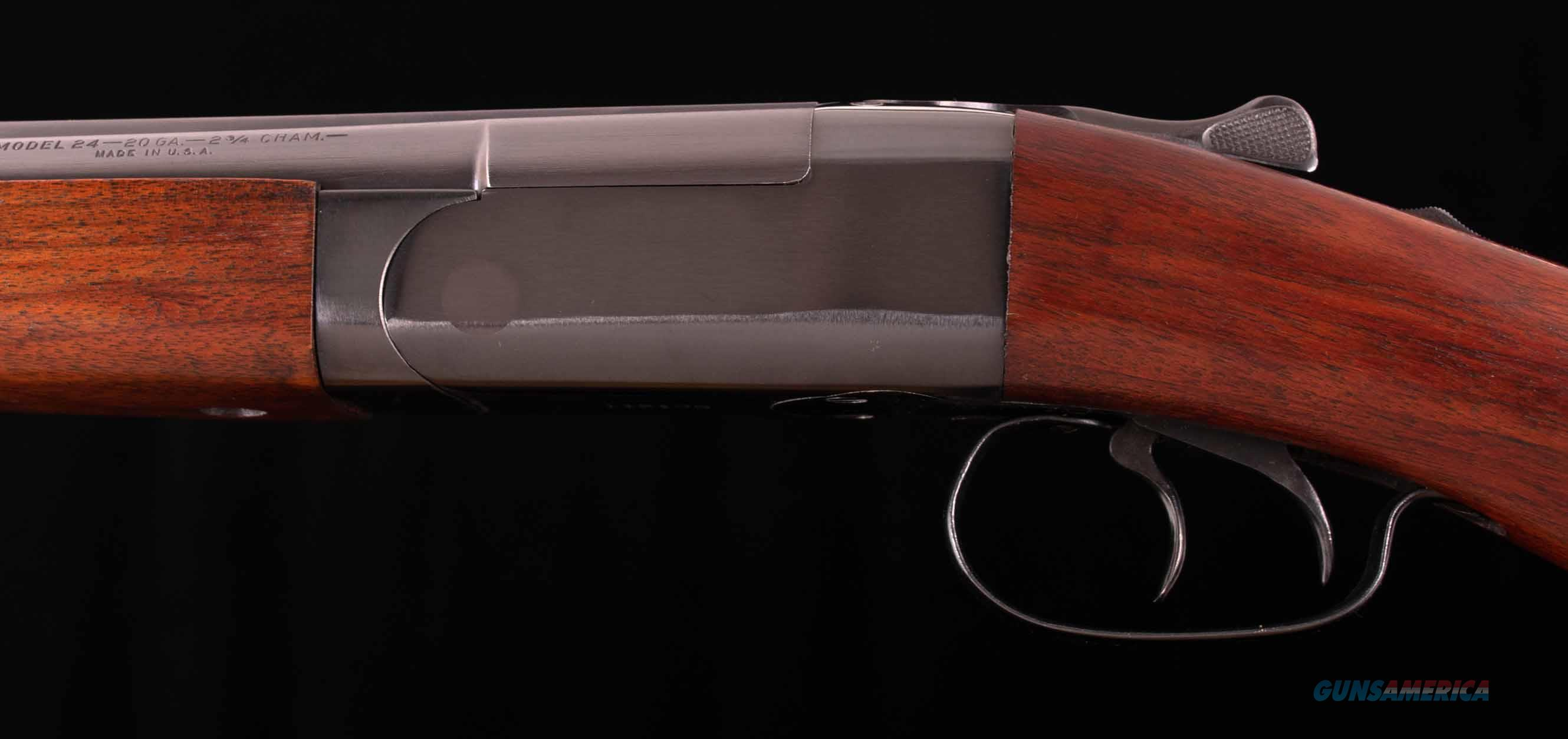 "Winchester Model 24 20 Gauge – FACTORY MINT, UNFIRED?, 28"", NICE, vintage firearms inc  Guns > Shotguns > Winchester Shotguns - Modern > SxS"