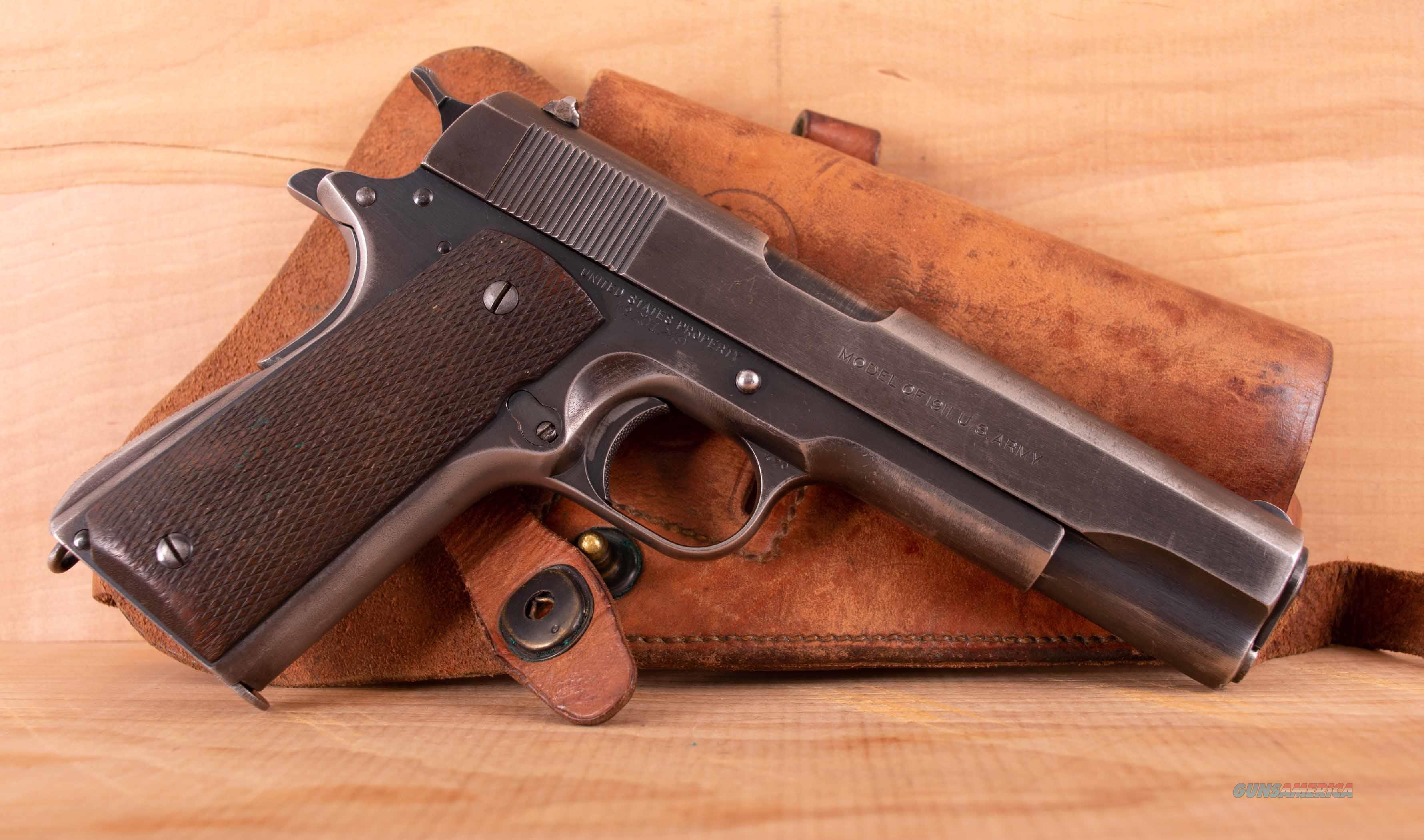 """Colt 1911 .45 acp – U.S. """"TRANSITION MODEL"""", PROVENANCE, vintage firearms inc  Guns > Pistols > Colt Automatic Pistols (1911 & Var)"""