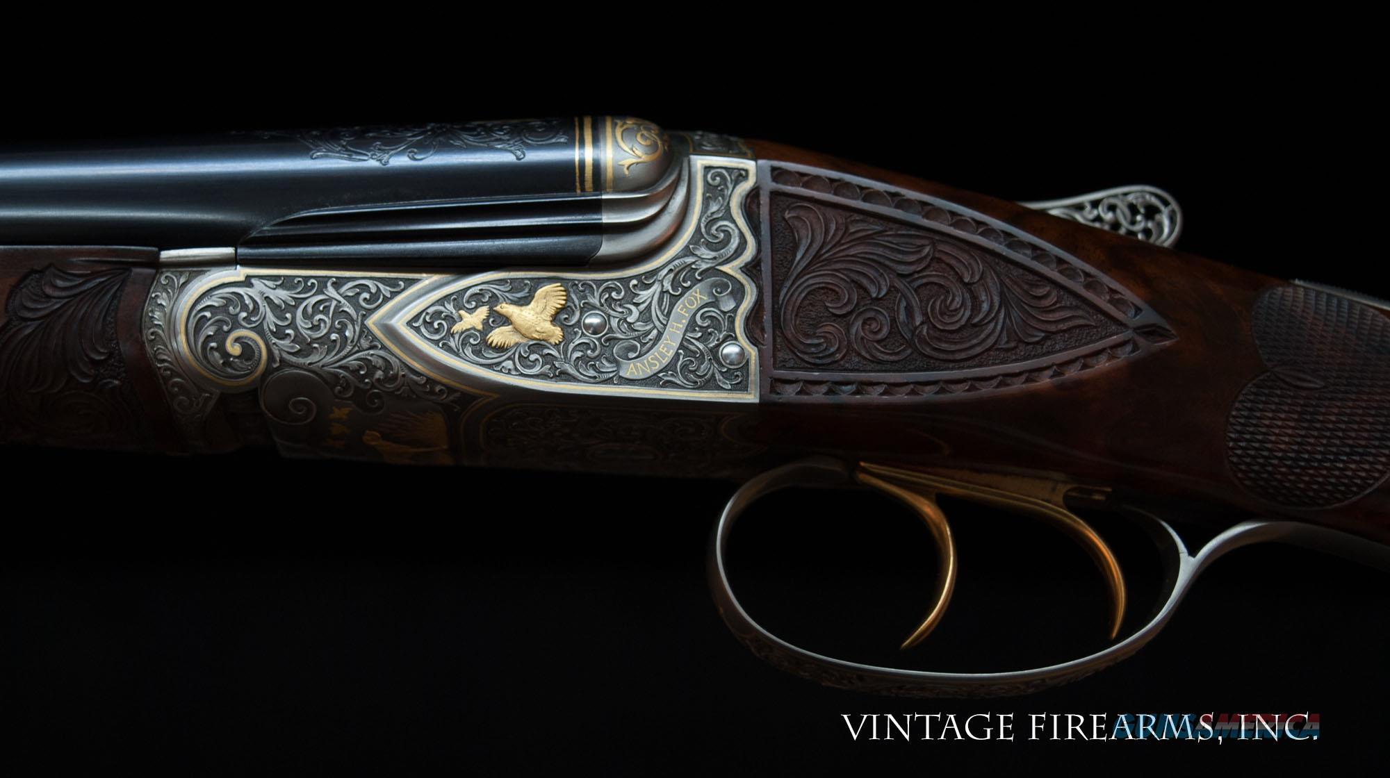 Fox FE Special .410 – CSMC, ONE OF THE FINEST EVER PAUL LANTUCH ENGRAVED, AMAZING!   Guns > Shotguns > Connecticut (Galazan) Shotguns