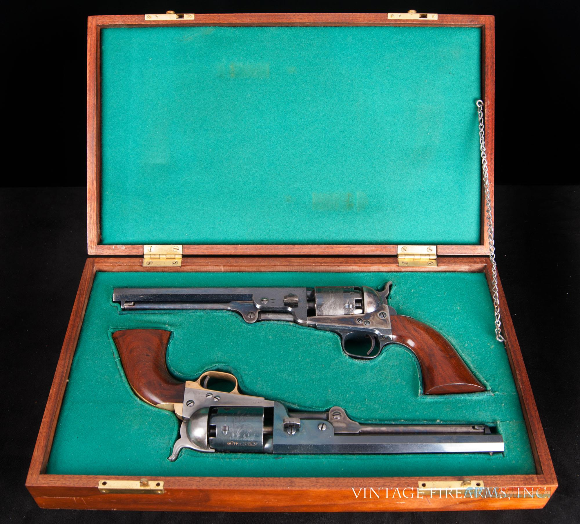 Colt 1851 Old Model Navy – LONDON ADDRESS, FACTORY FACTORY ORIGINAL, HIGH CONDITION, CASED   Guns > Pistols > Colt Percussion Revolver - Pre-1899
