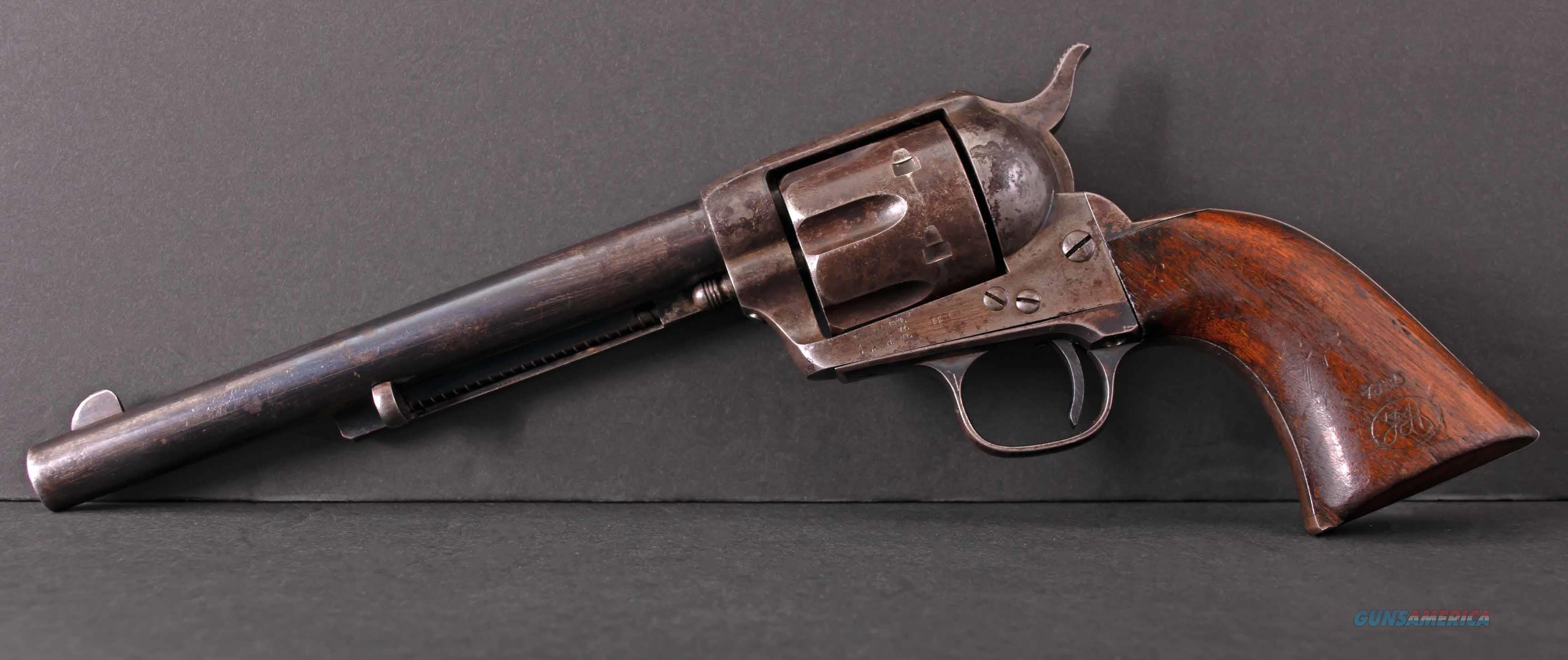 Colt SAA .45 Colt – U.S. CAVALRY, 1885, D.F.C., 100% CORRECT, ORIGINAL, vintage firearms inc   Guns > Pistols > Colt Single Action Revolvers - 1st Gen.
