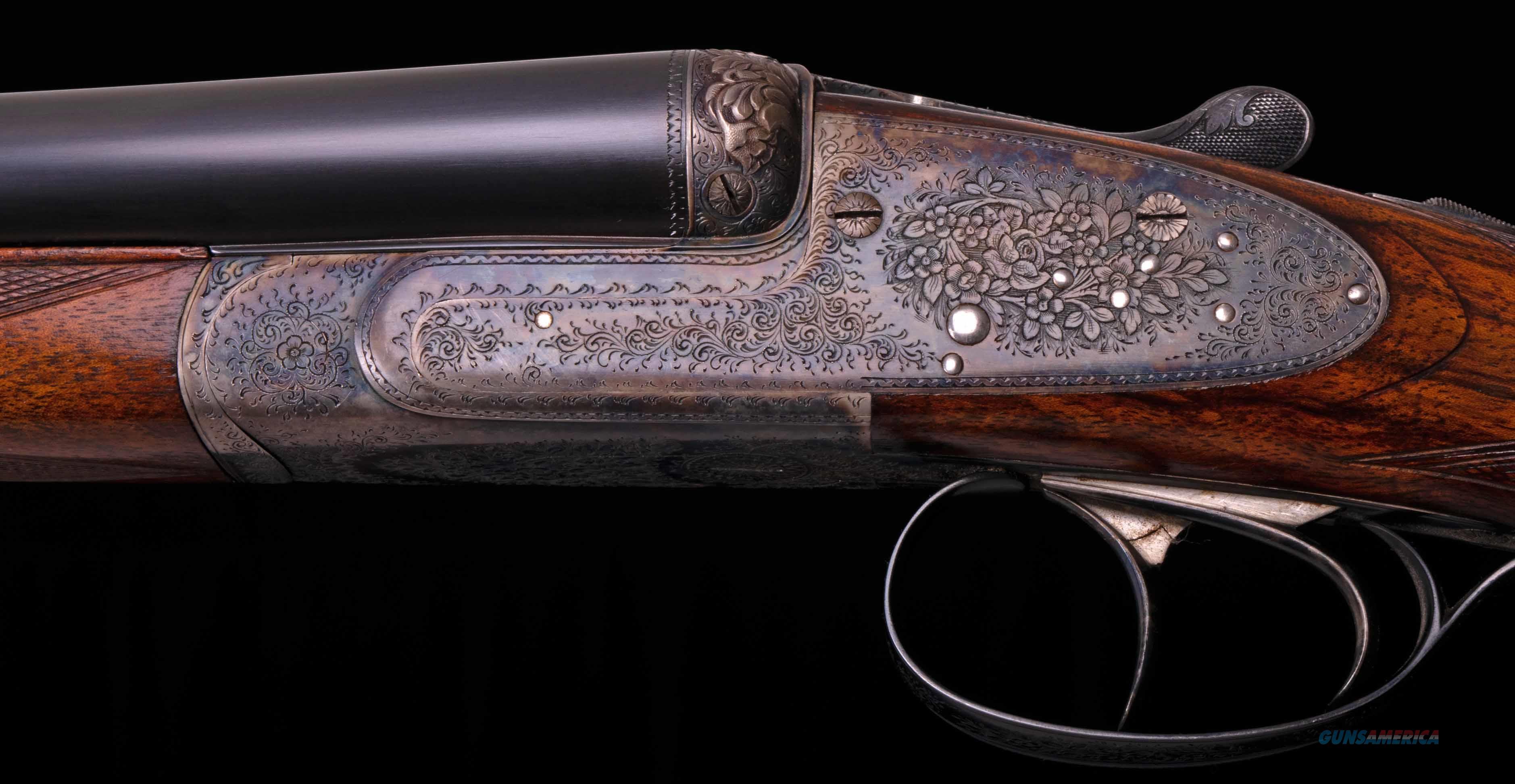 Dumoulin 20 Gauge Side by Side - SIDELOCK, BEST GUN, ROUND ACTION, vintage firearms inc  Guns > Shotguns > Dumoulin Shotguns