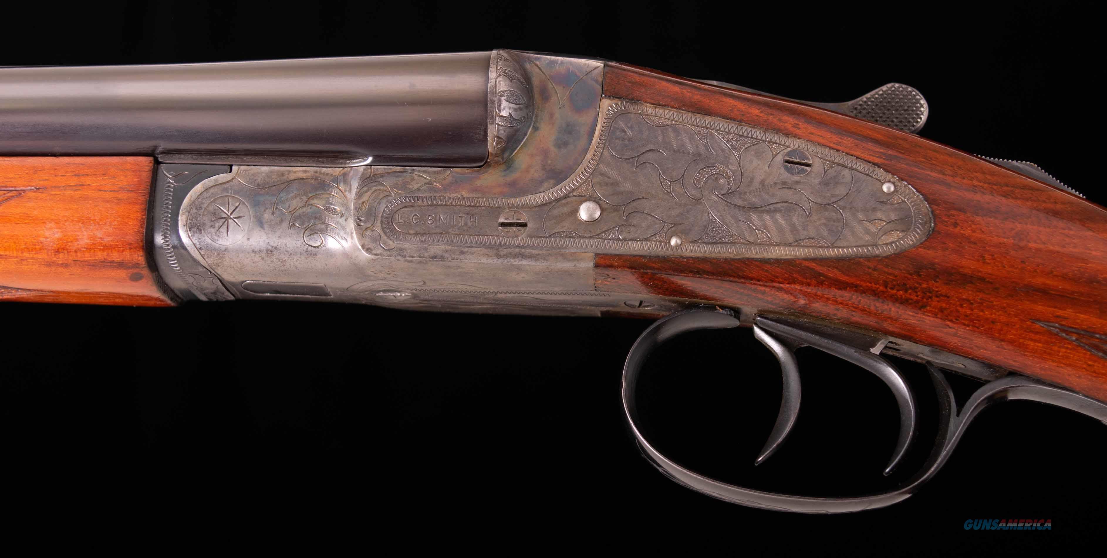 """L.C. Smith Ideal Grade 20 Gauge – 28"""", 95% CASE COLOR, vintage firearms inc  Guns > Shotguns > L.C. Smith Shotguns"""