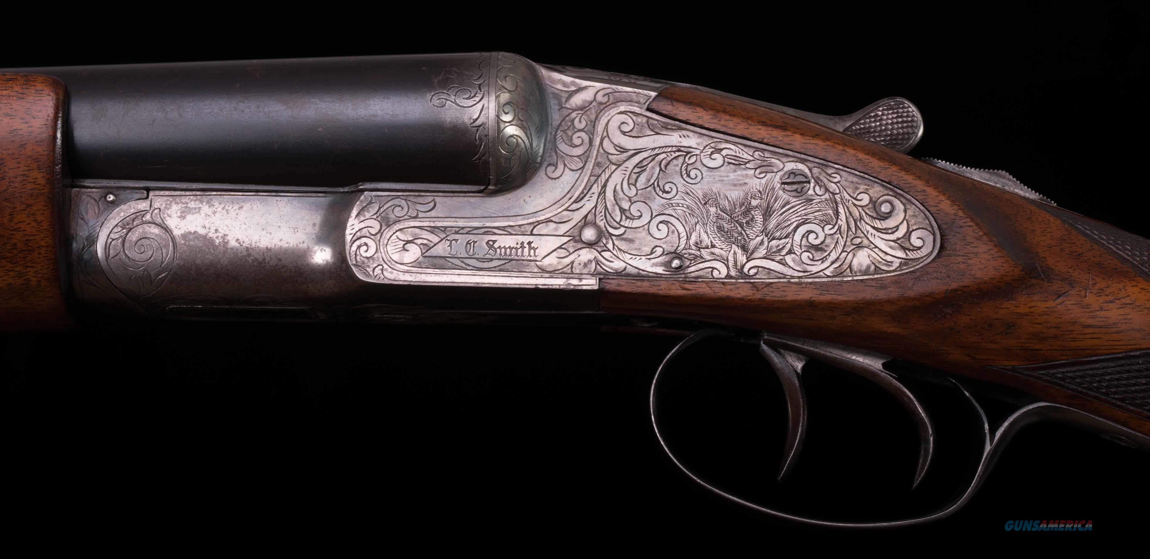 "L.C. Smith Specialty 12 Gauge – 32"" BARRELS, ENGLISH STOCK, BEAVERTAIL, vintage firearms inc   Guns > Shotguns > L.C. Smith Shotguns"