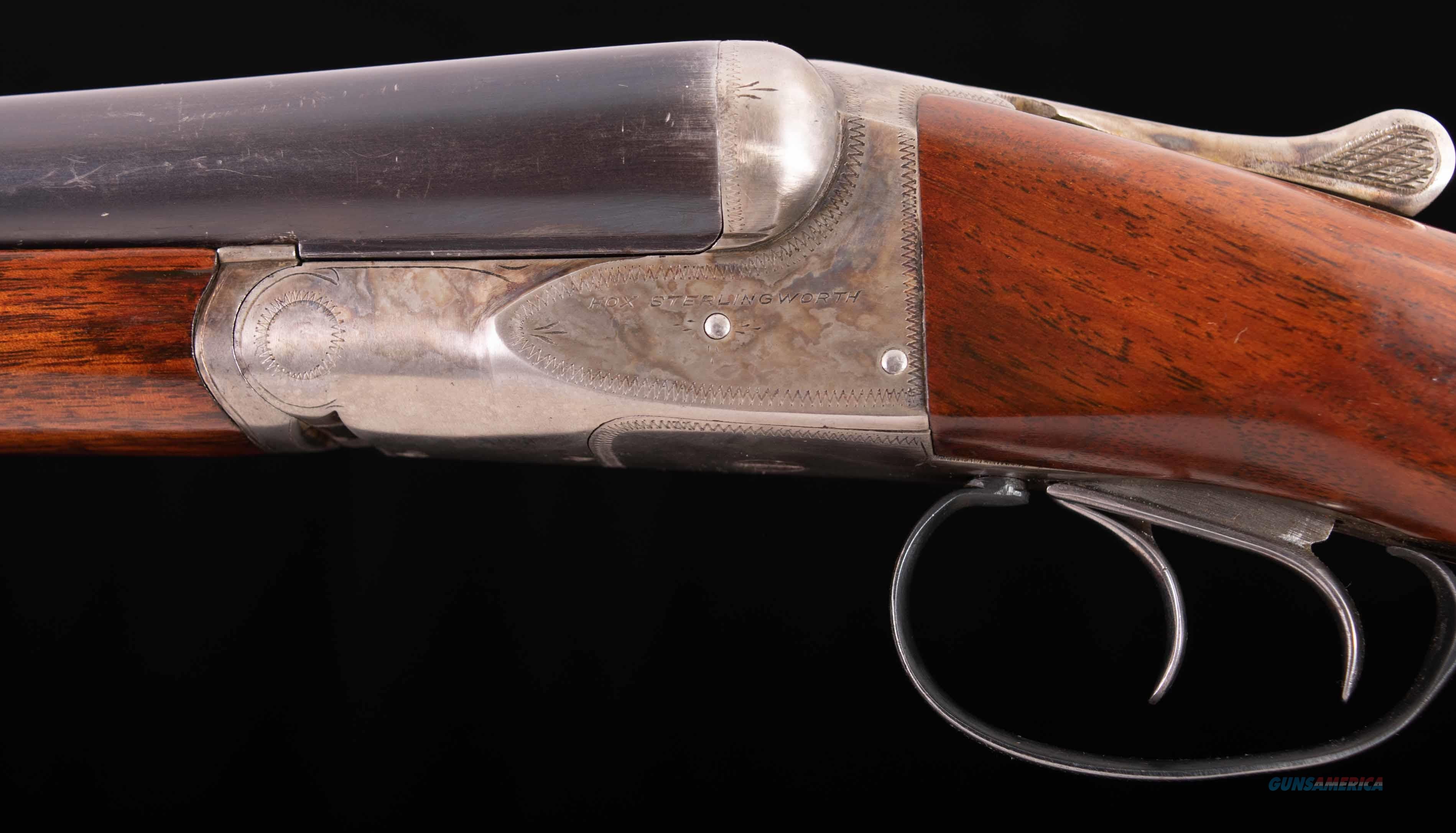 """Fox Sterlingworth 16ga – EJECTORS, FACTORY 15 ¼"""" LOP!, 28"""" BARRELS, vintage firearms inc  Guns > Shotguns > Fox Shotguns"""