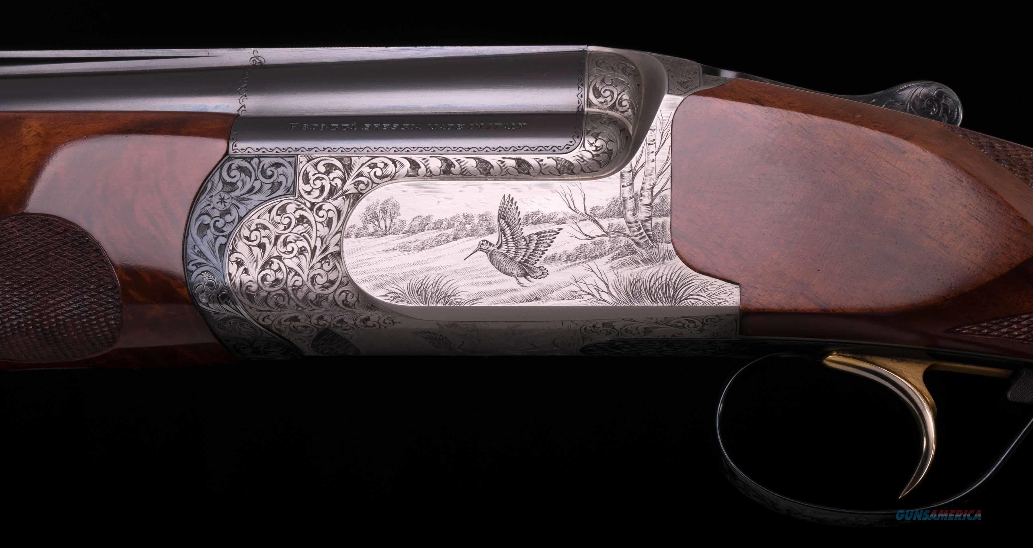 Perazzi MX8 12 Gauge - SC3,  TOM SMITH WOOD, VINTAGE FIREARMS, INC.  Guns > Shotguns > Perazzi Shotguns
