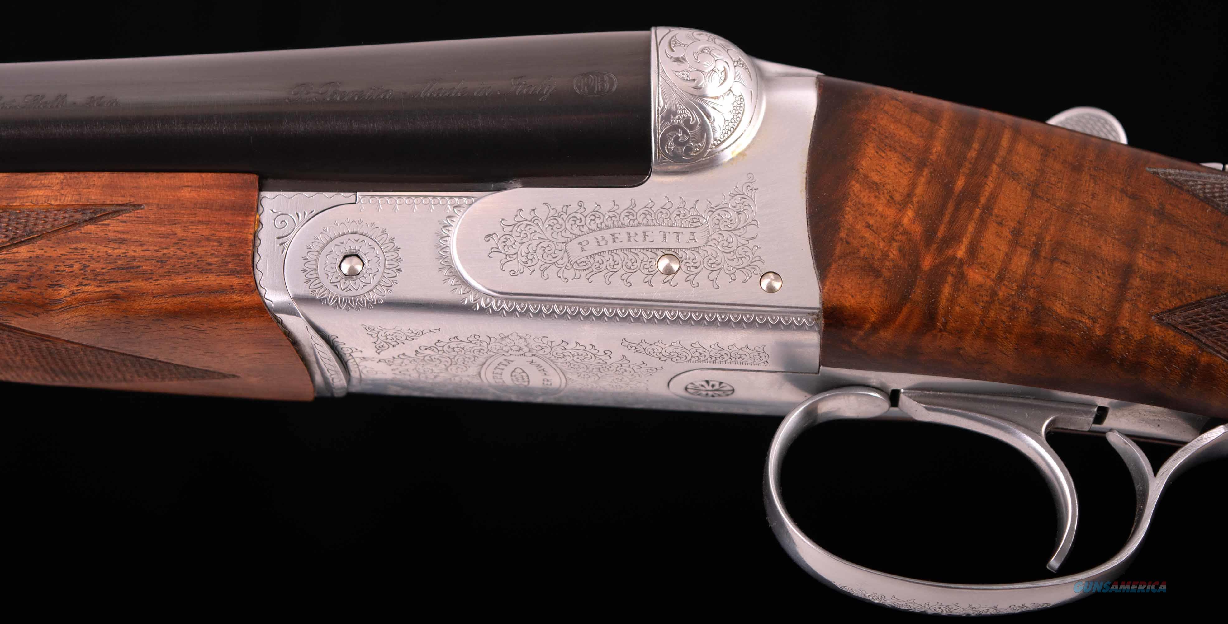 Beretta Silver Hawk 12 Gauge – ULTRALIGHT, AS NEW DELUXE WOOD, vintage firearms inc  Guns > Shotguns > Beretta Shotguns > SxS