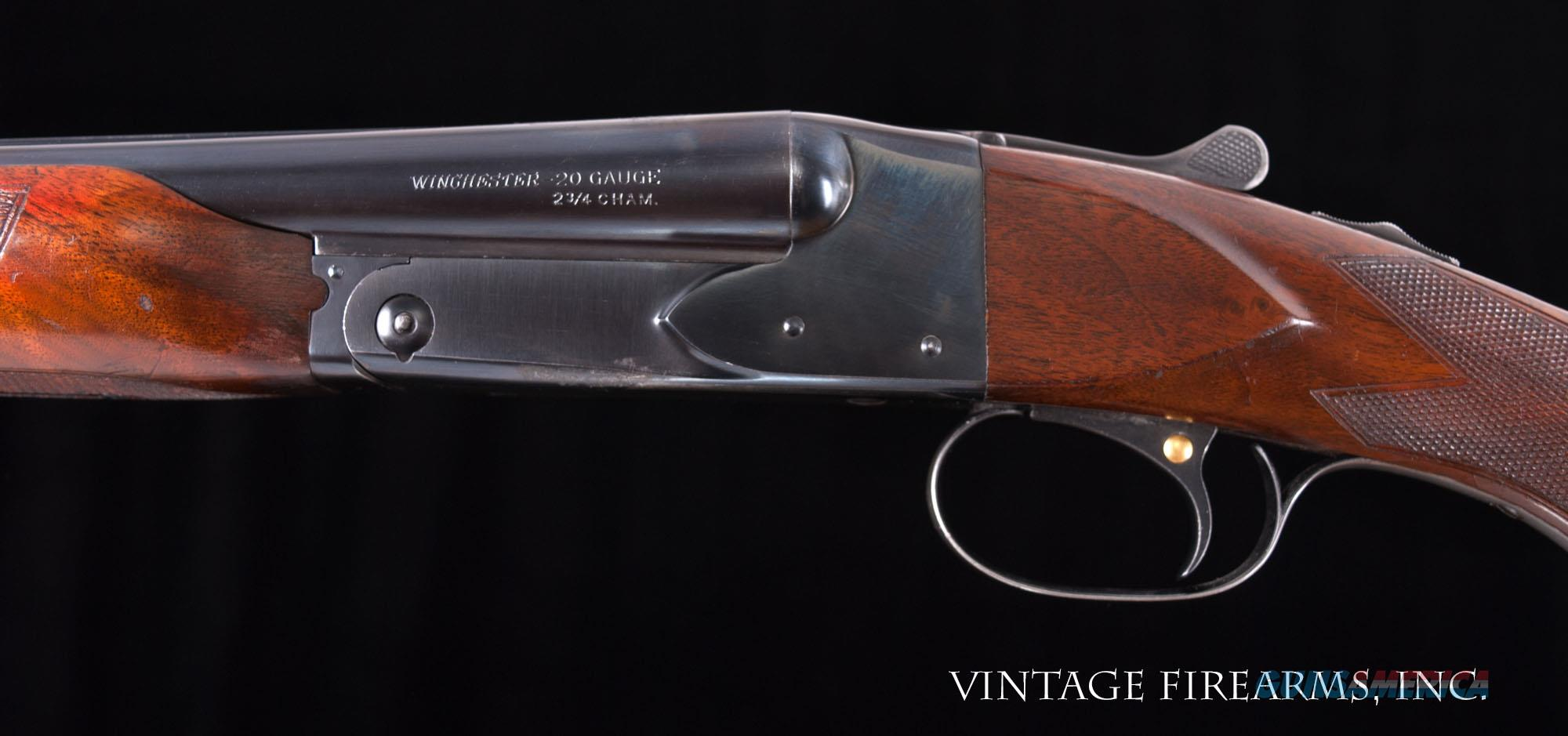 Winchester Model 21 20 Gauge – FACTORY ORIGINAL LOTS OF CONDITION, CODY LETTER  Guns > Shotguns > Winchester Shotguns - Modern > SxS