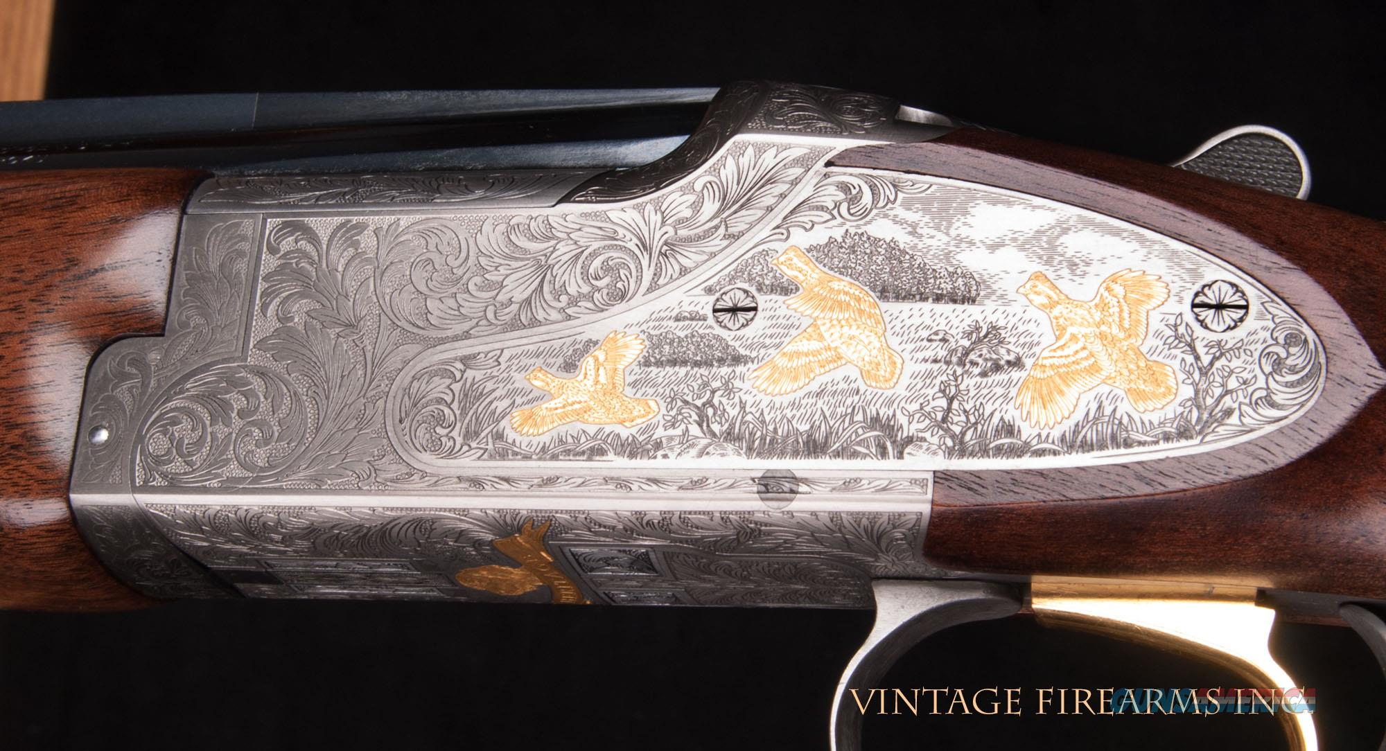 Browning Citori 20 Gauge O/U - HERITAGE, SIDEPLATES, GOLD, CASED, NIB   Guns > Shotguns > Browning Shotguns > Over Unders > Citori > Hunting