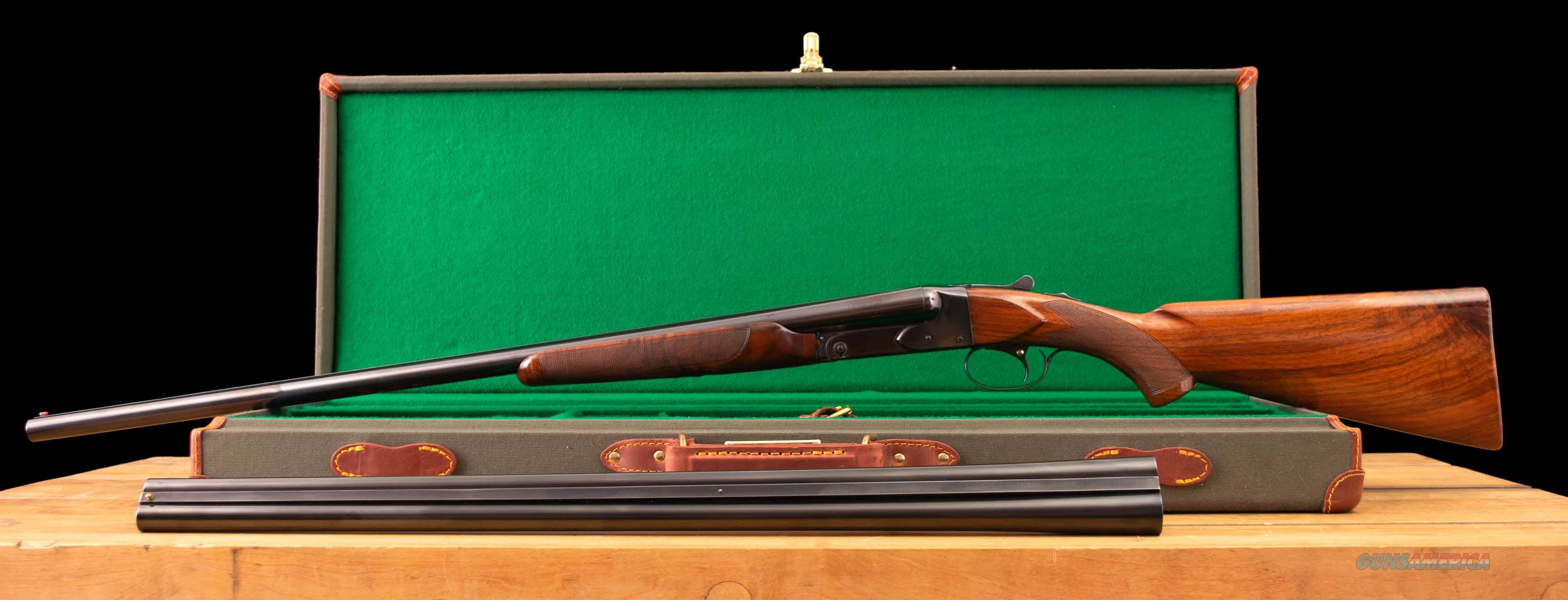 Winchester Model 21 16 Gauge SKEET – TWO BARREL SET, CASED, vintage firearms inc  Guns > Shotguns > Winchester Shotguns - Modern > SxS
