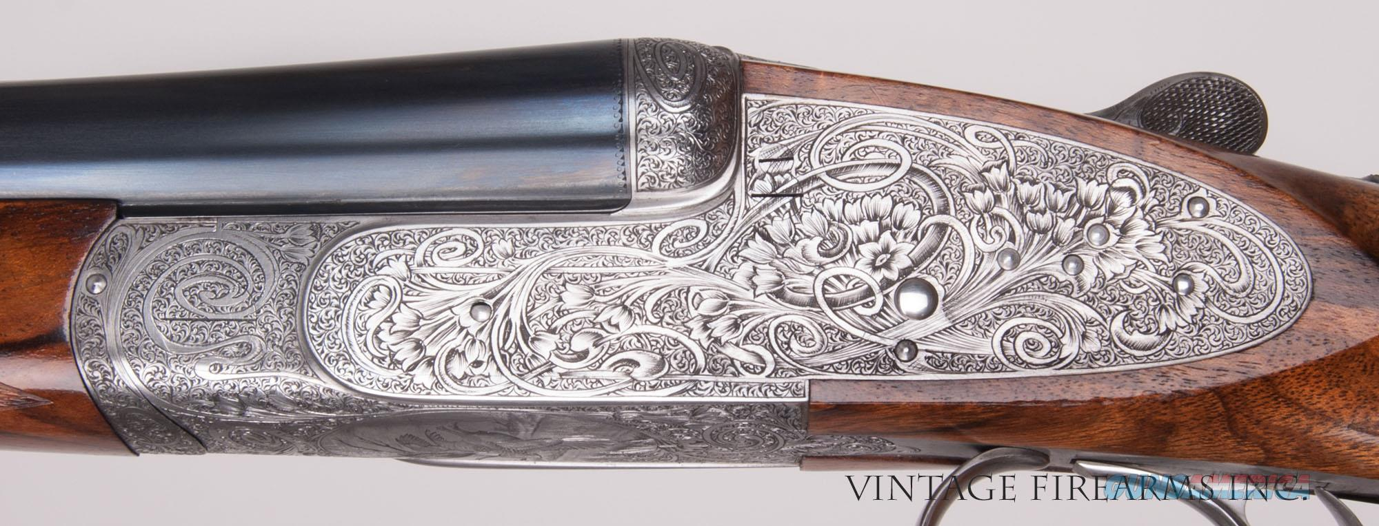 Abbiatico & Salvinelli BEST SIDELOCK EJECTOR .410 GAME GUN BONSI ENGRAVED   Guns > Shotguns > Double Shotguns (Misc.)  > Italian