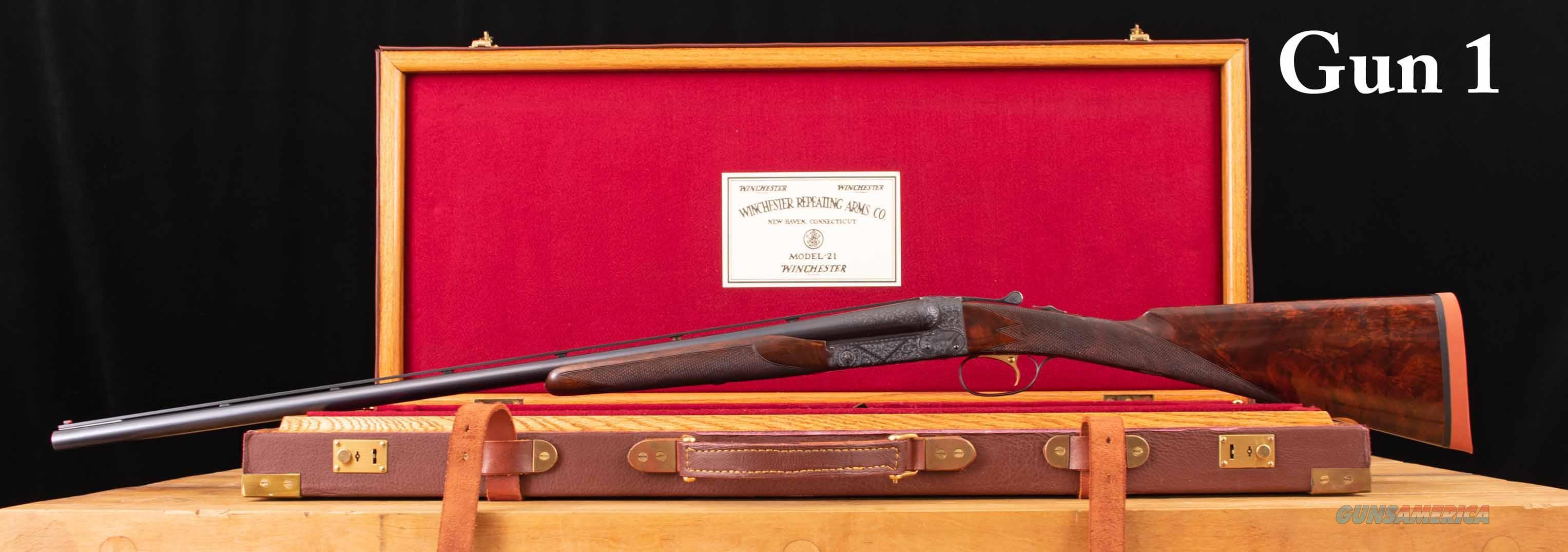 Winchester M21 16 Gauge – CSMC, BEST ENGRAVING, PIGEON GRADE, vintage firearms inc  Guns > Shotguns > Winchester Shotguns - Modern > SxS