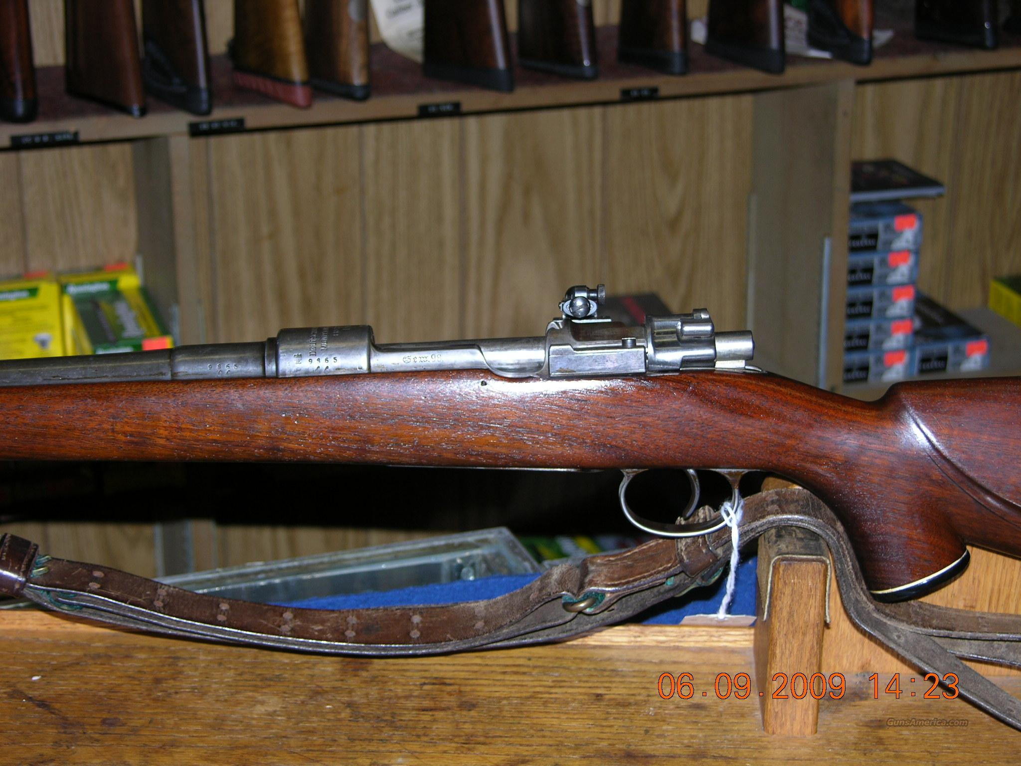 Mauser 98 Sporterized 8mm  Guns > Rifles > Mauser Rifles > German