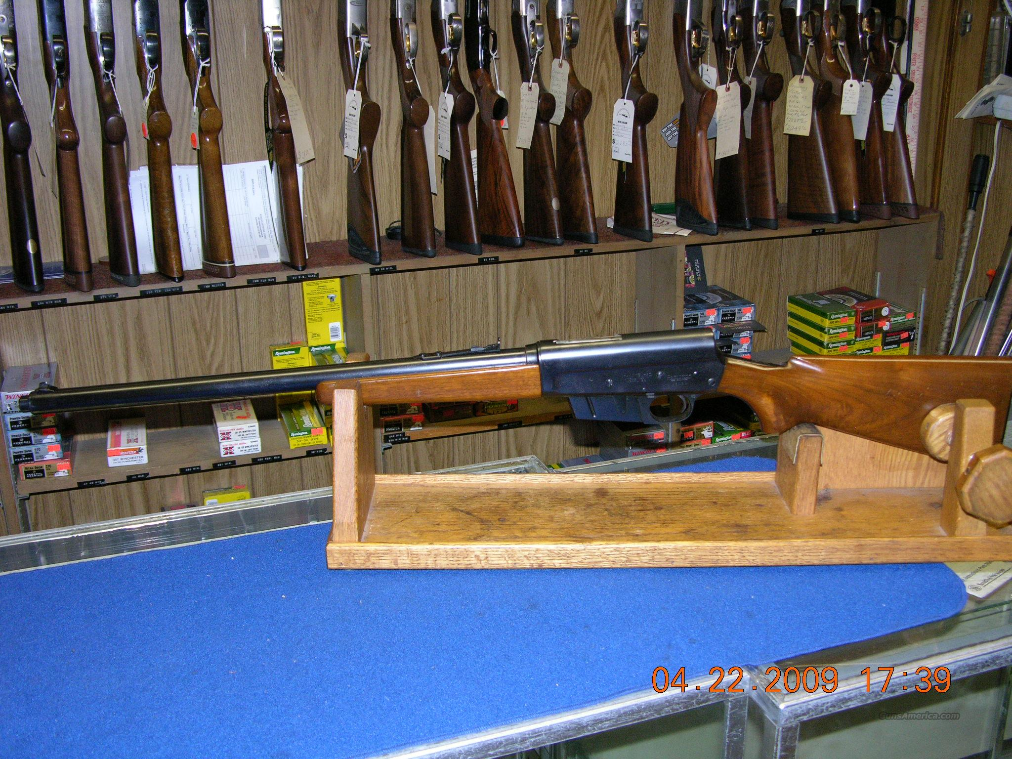 Remington Model 81 Woodsmaster 35 Rem.  Guns > Rifles > Remington Rifles - Modern > Nylon 66 & 7