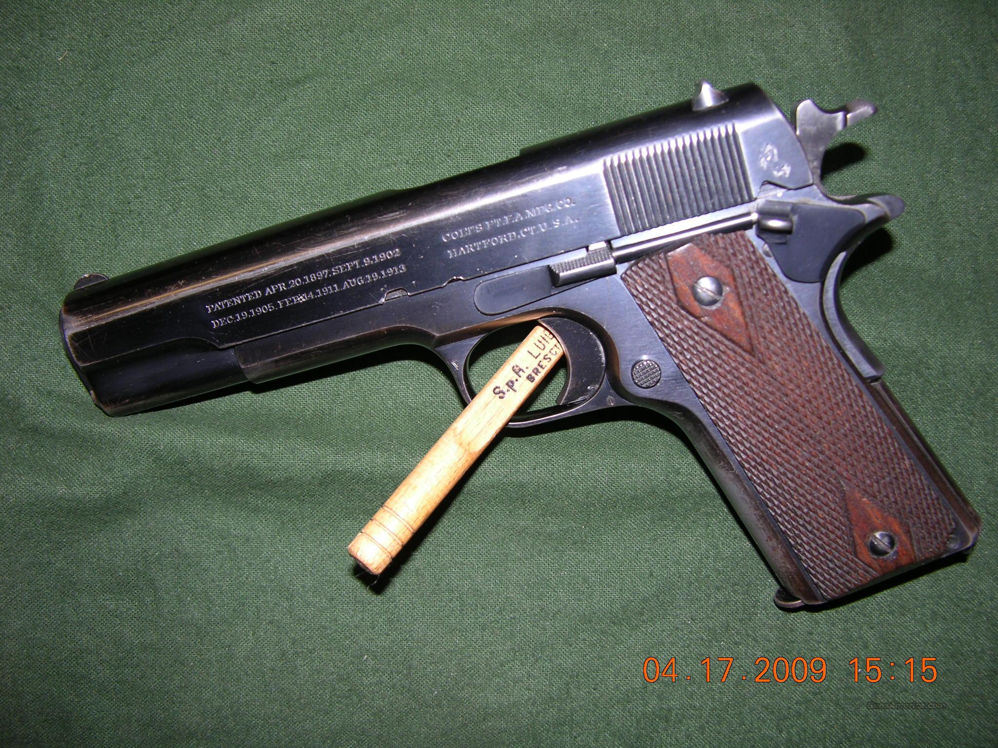 Colt Model 1911 Commercial  Guns > Pistols > Colt Automatic Pistols (1911 & Var)