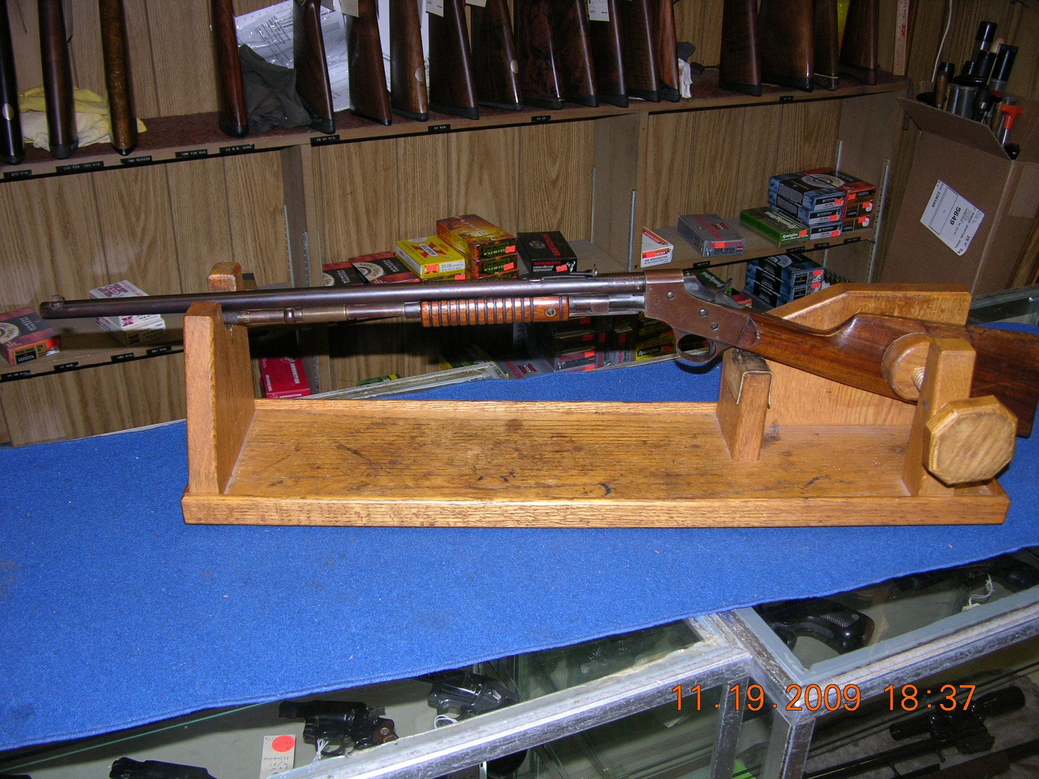 Stevens Model 70 Visible Loading Repeater  Guns > Rifles > Stevens Rifles