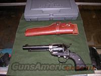 Ruger New Vaquero .45 Colt 5.5 inch Blue/Case w/ holster  Guns > Pistols > Ruger Single Action Revolvers > Cowboy Action