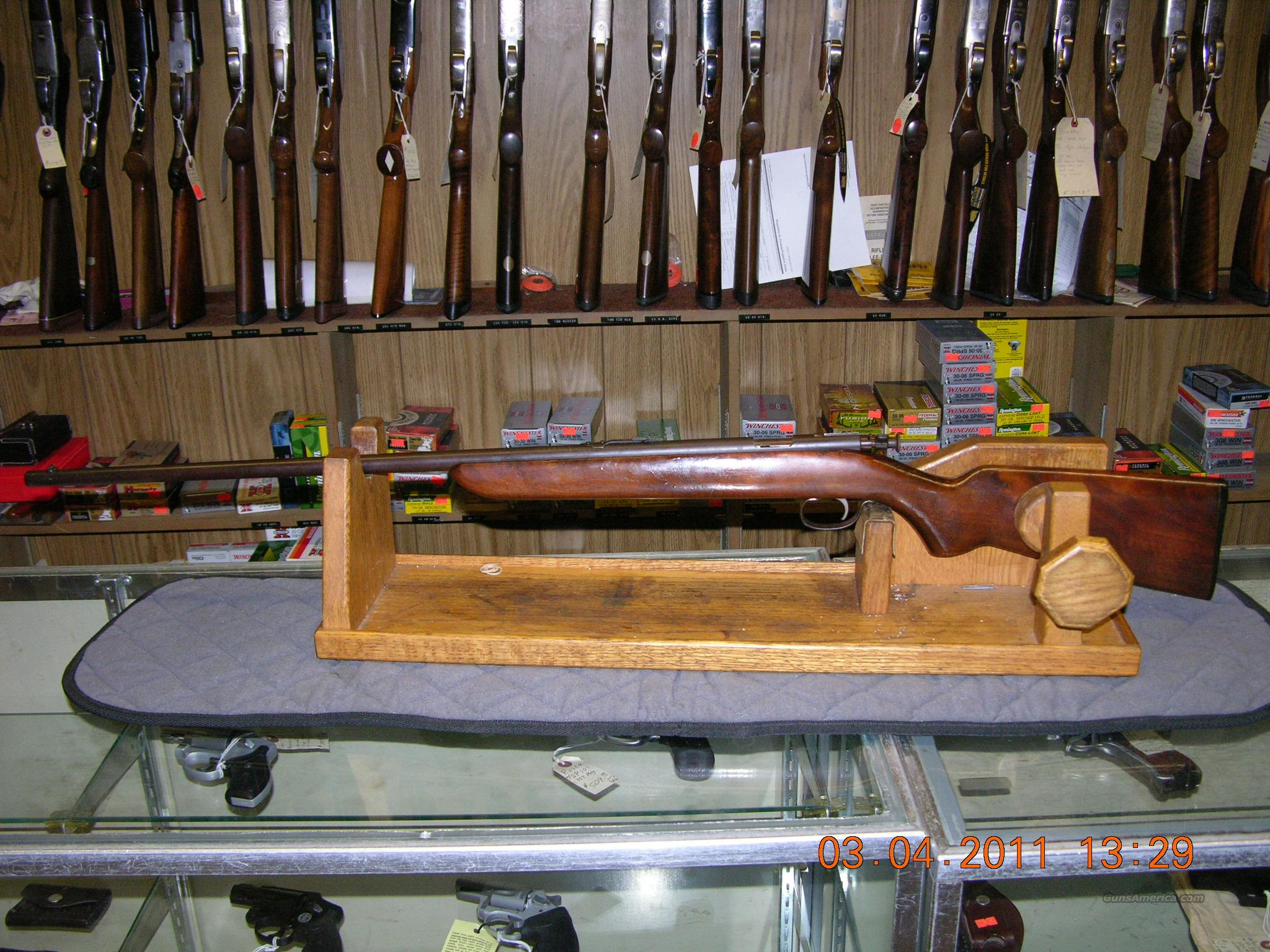 Remington model 41 Targetmaster   Guns > Rifles > Remington Rifles - Modern > .22 Rimfire Models