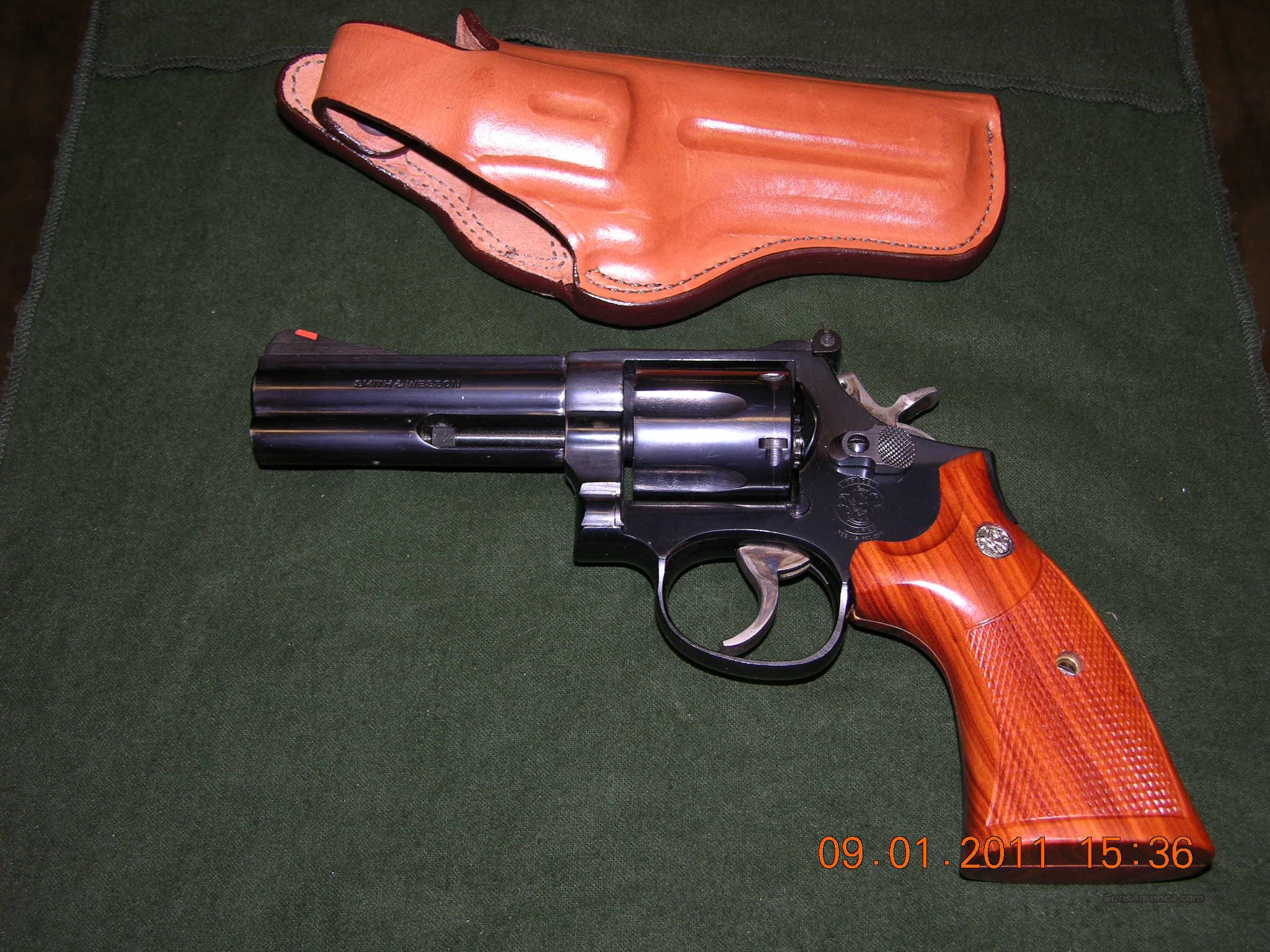 "S&W Model 586 4"",.357 Magnum with holster  Guns > Pistols > Smith & Wesson Revolvers > Full Frame Revolver"