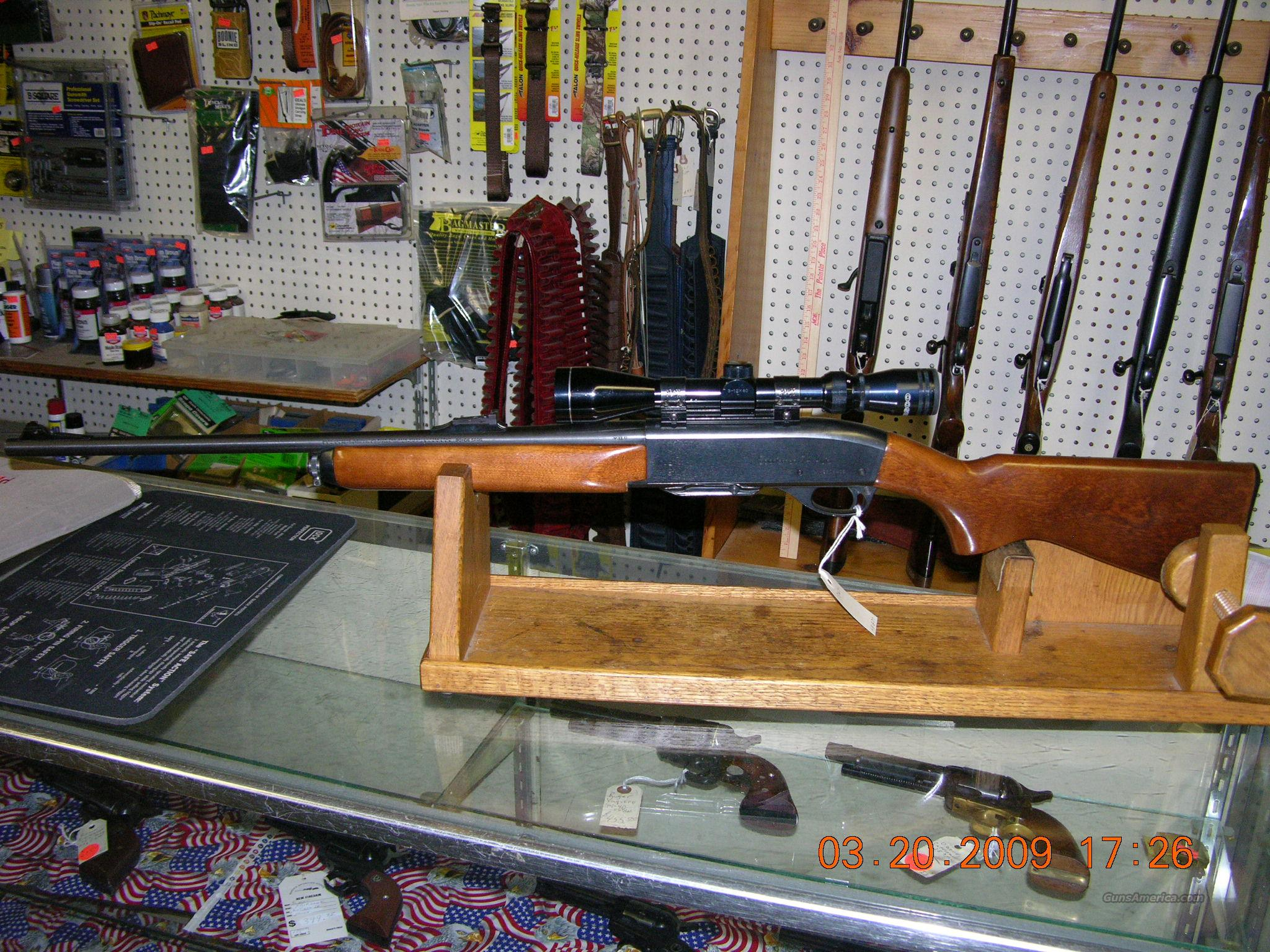 Remington Model 74 Sportsman .30-06 semi auto  Guns > Rifles > Remington Rifles - Modern > Bolt Action Non-Model 700 > Sporting