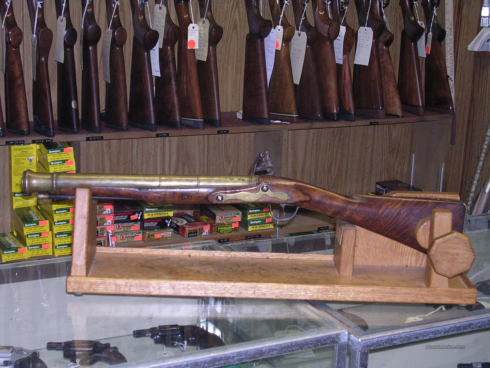 BLYTH British Military Blunderbuss  Guns > Rifles > Muzzleloading Pre-1899 Rifles (flint)