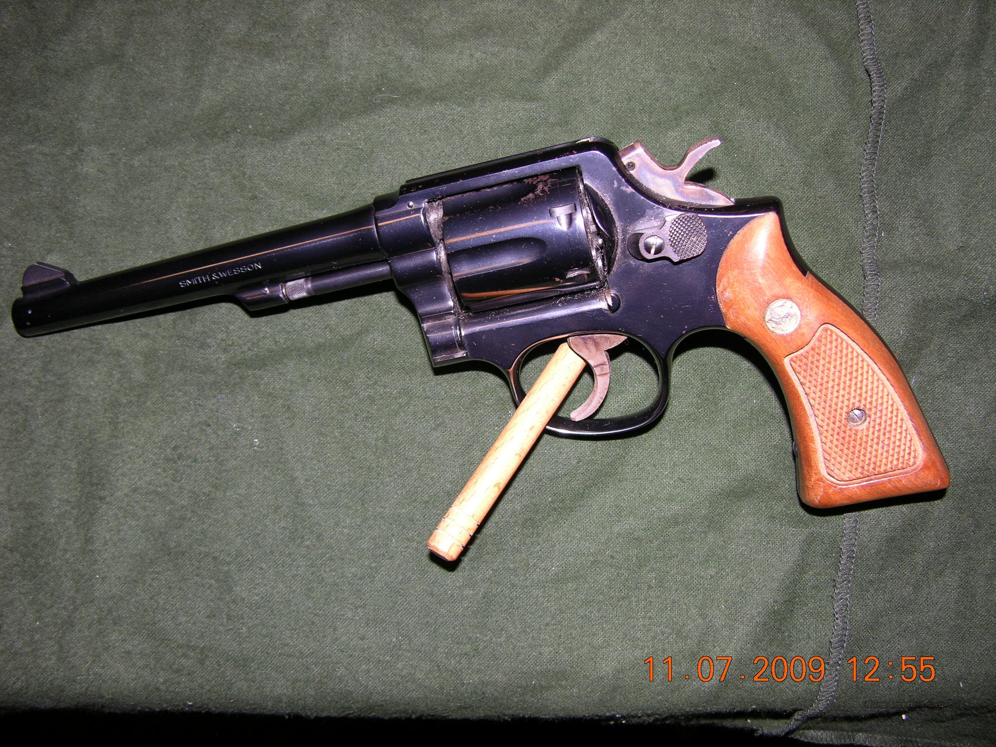 S&W Model 10-5 six inch barrel  Guns > Pistols > Smith & Wesson Revolvers > Model 10