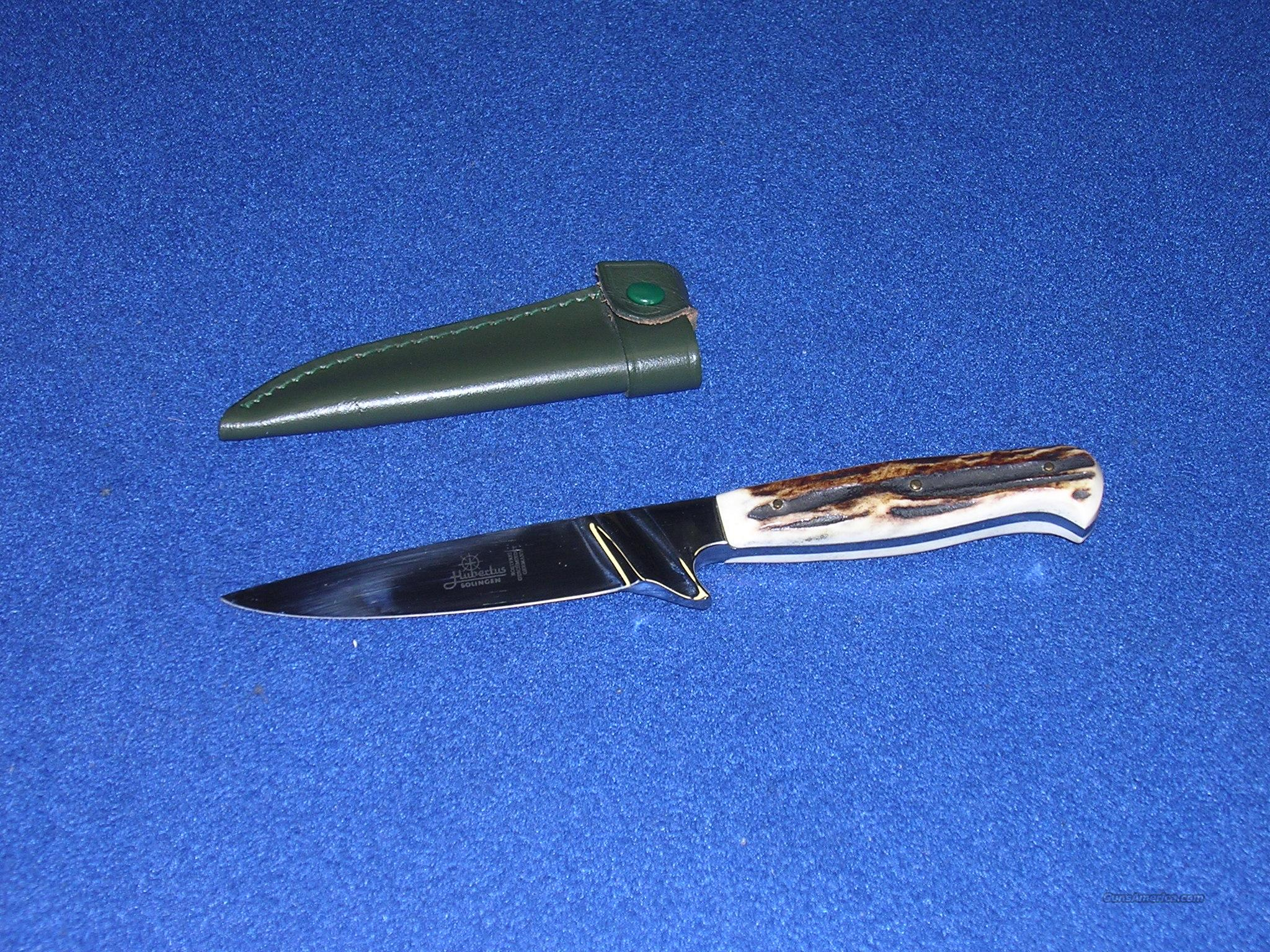 Hubertus Stag handle Hunting knife  Non-Guns > Knives/Swords > Knives > Fixed Blade > Imported