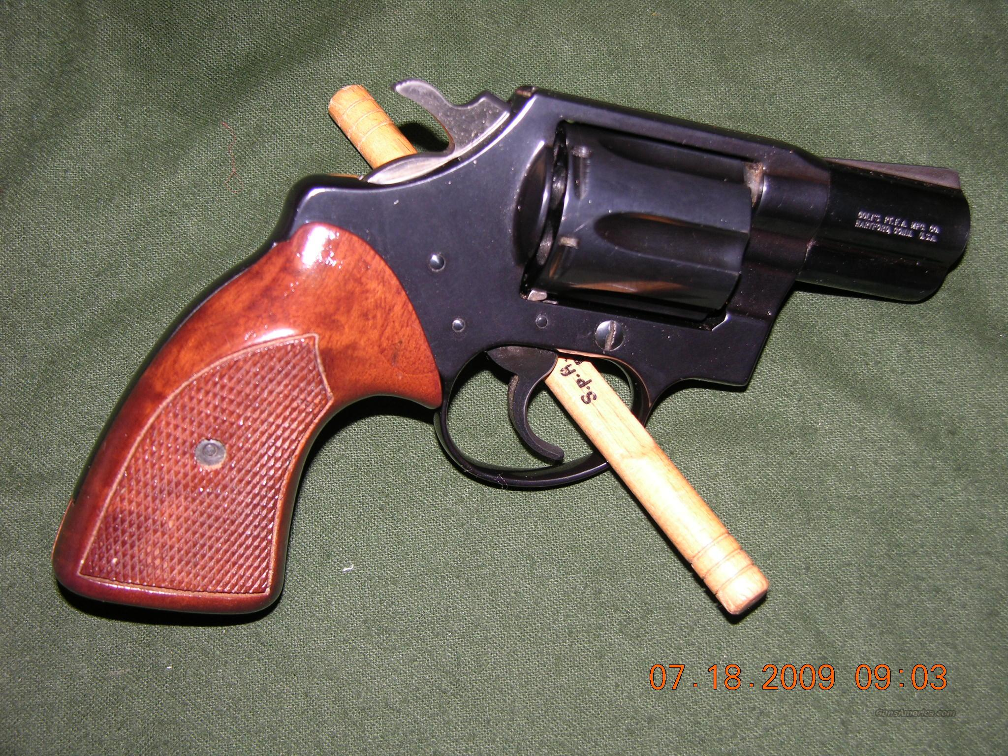 Colt Detective Special Post War 2nd Issue  Guns > Pistols > Colt Double Action Revolvers- Modern