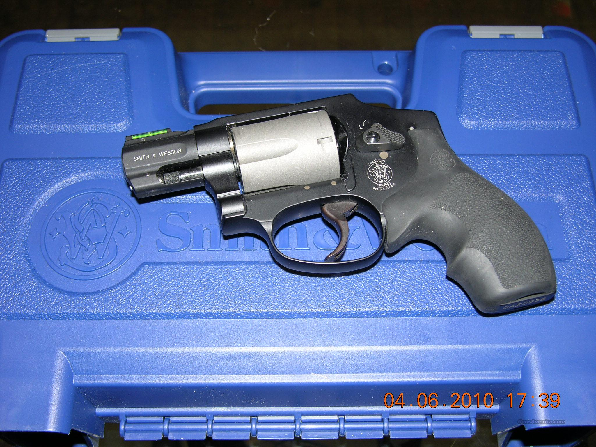 S&W Model 340 PD  Guns > Pistols > Smith & Wesson Revolvers > Full Frame Revolver