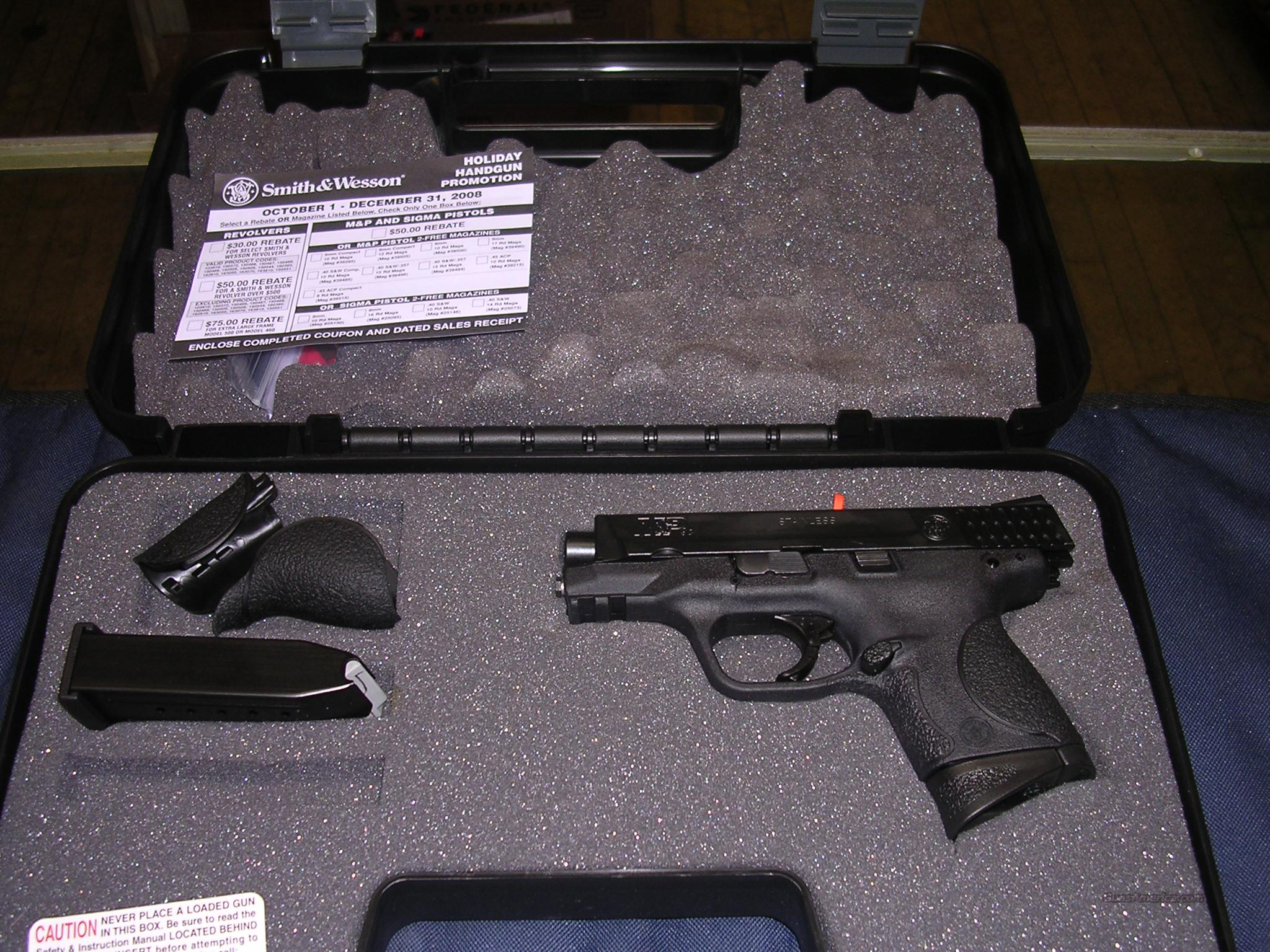 S&W M&P 9 Compact NEW in BOX  Guns > Pistols > Smith & Wesson Pistols - Autos > Polymer Frame