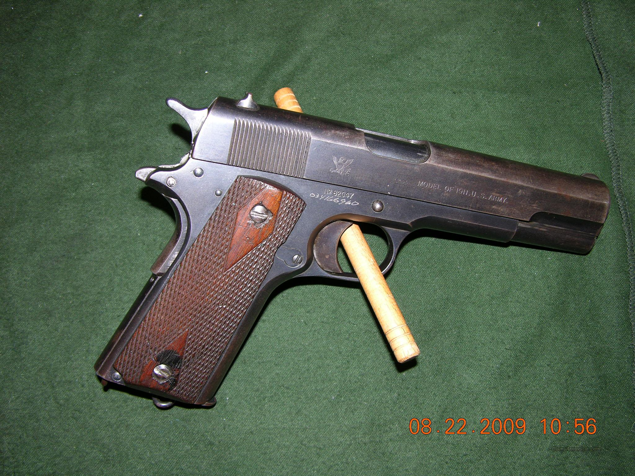 "Springfield Armory ""Model of 1911 US Army""   Guns > Pistols > Colt Automatic Pistols (1911 & Var)"