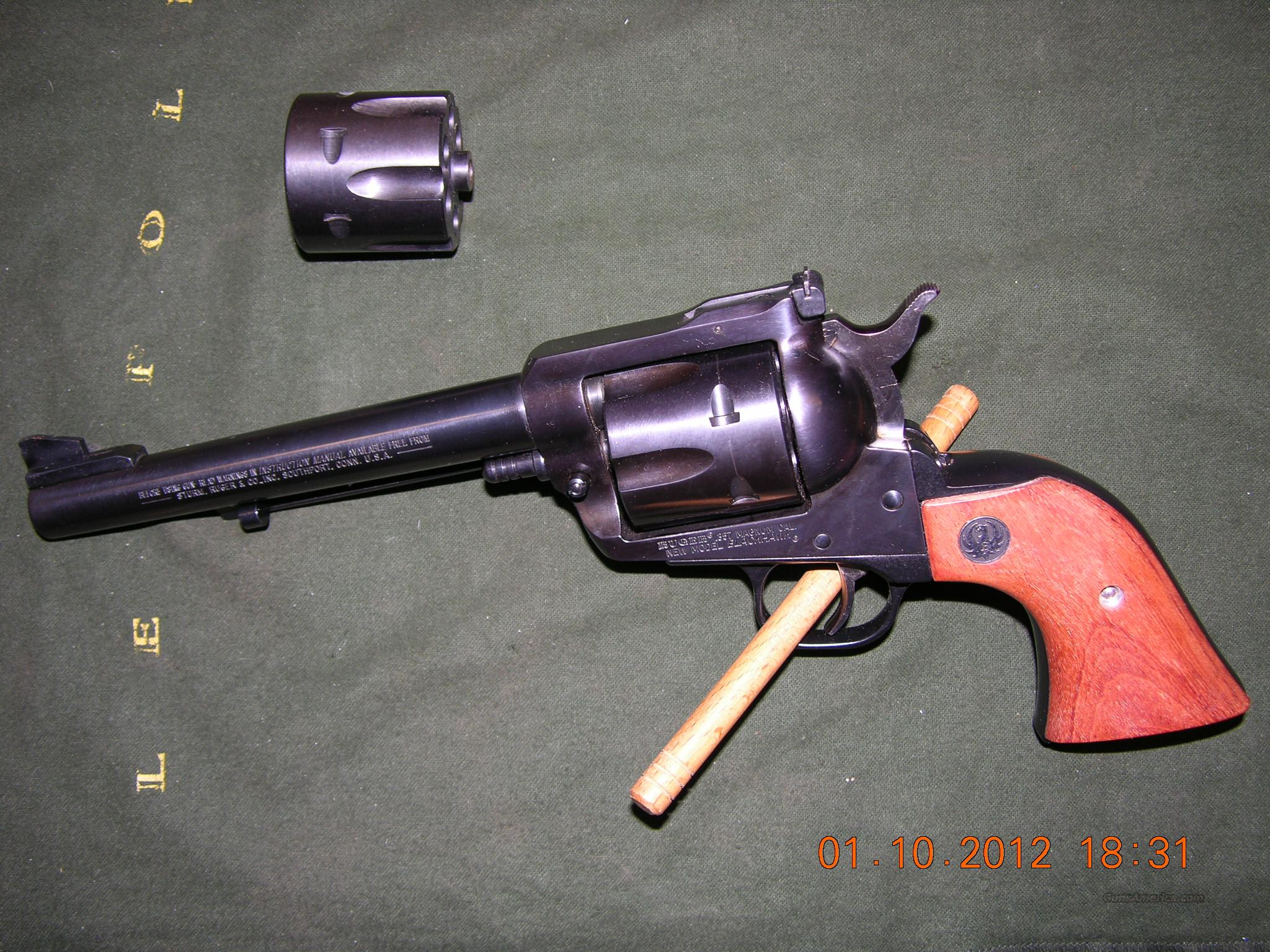 Ruger New Model Blackhawk .357 Mag/9mm Convertible  Guns > Pistols > Ruger Single Action Revolvers > Blackhawk Type