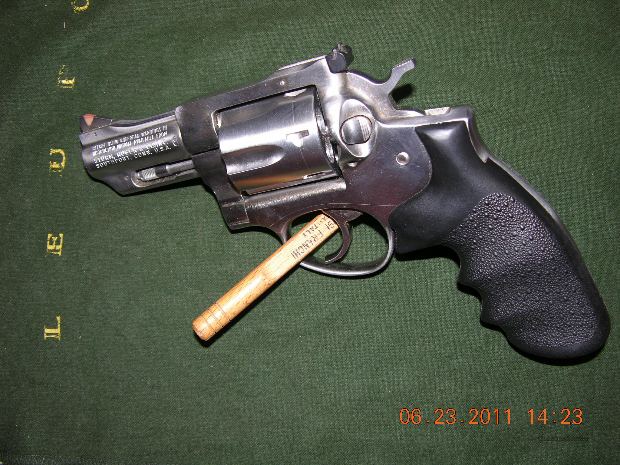 Ruger Security Six Stainless .357 Magnum  Guns > Pistols > Ruger Double Action Revolver > Security Six Type