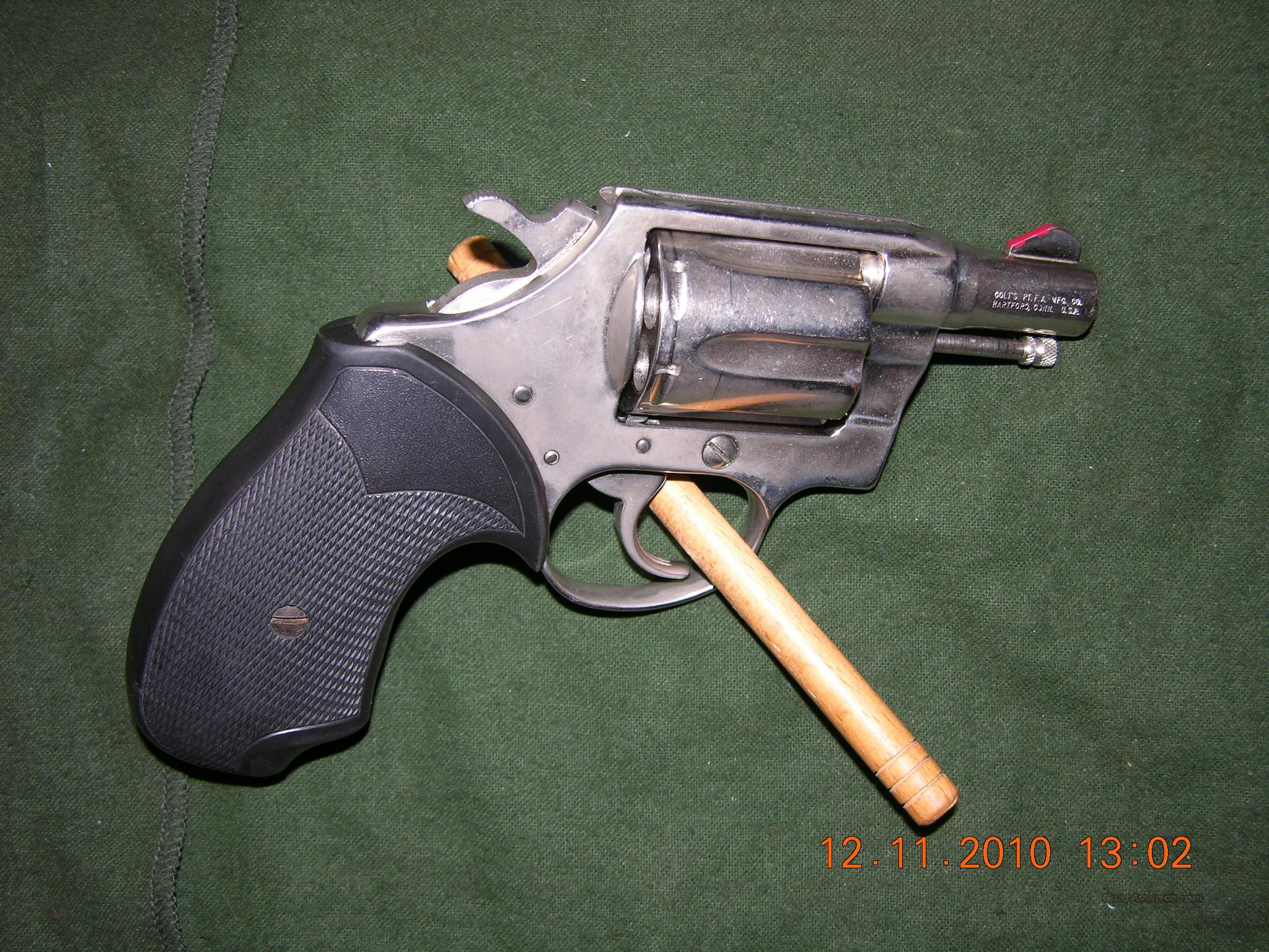 Colt Cobra 1st Issue Nickel 38 Spl   Guns > Pistols > Colt Double Action Revolvers- Modern
