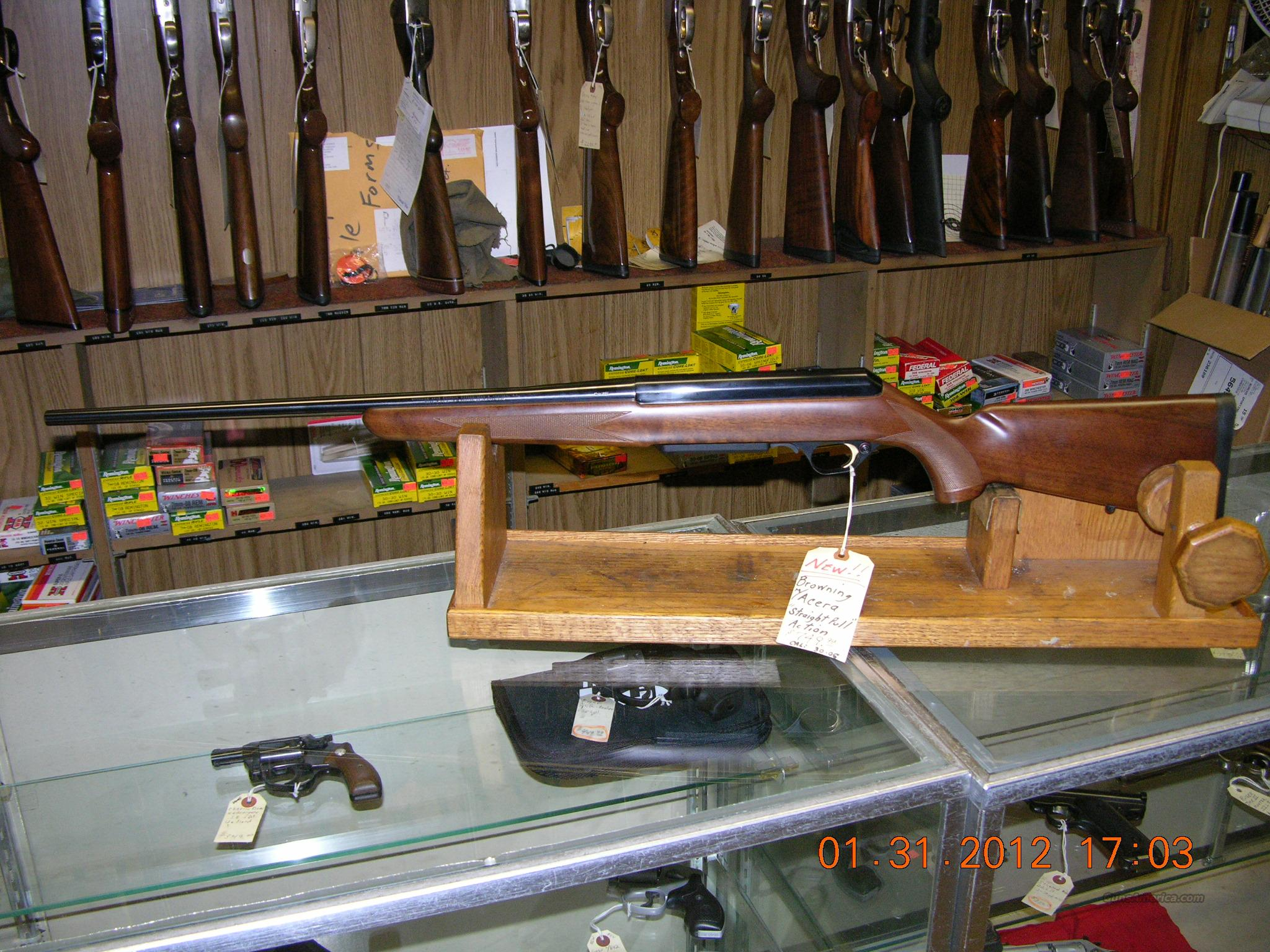 Browning Acera .30-06 caliber bolt action NIB  Guns > Rifles > Browning Rifles > Bolt Action > Hunting > Blue