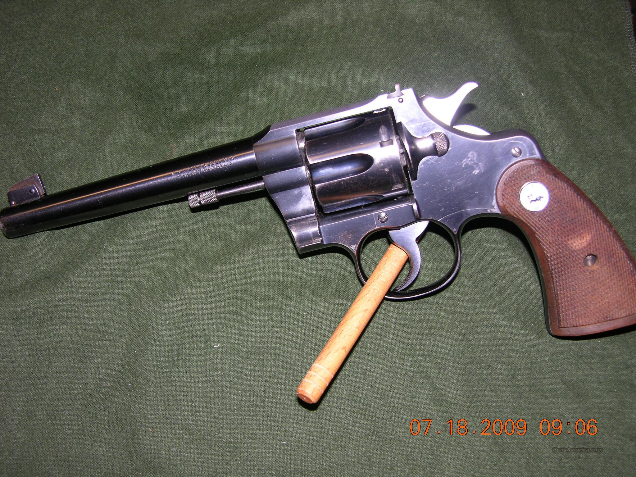Colt Officers Model 38 Special 3rd Issue  Guns > Pistols > Colt Double Action Revolvers- Modern