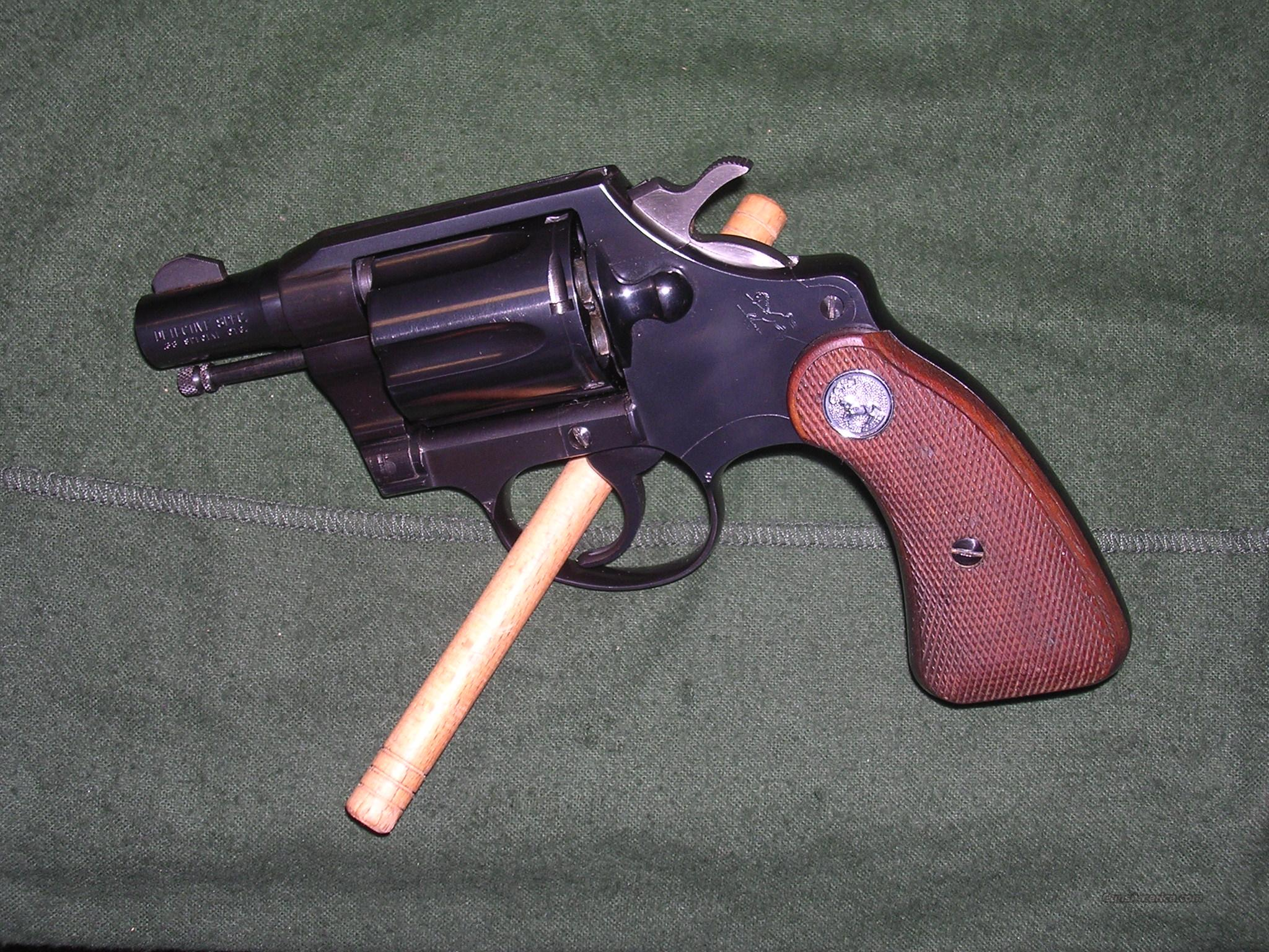 Colt Detective Special , Second Issue  Guns > Pistols > Colt Double Action Revolvers- Modern