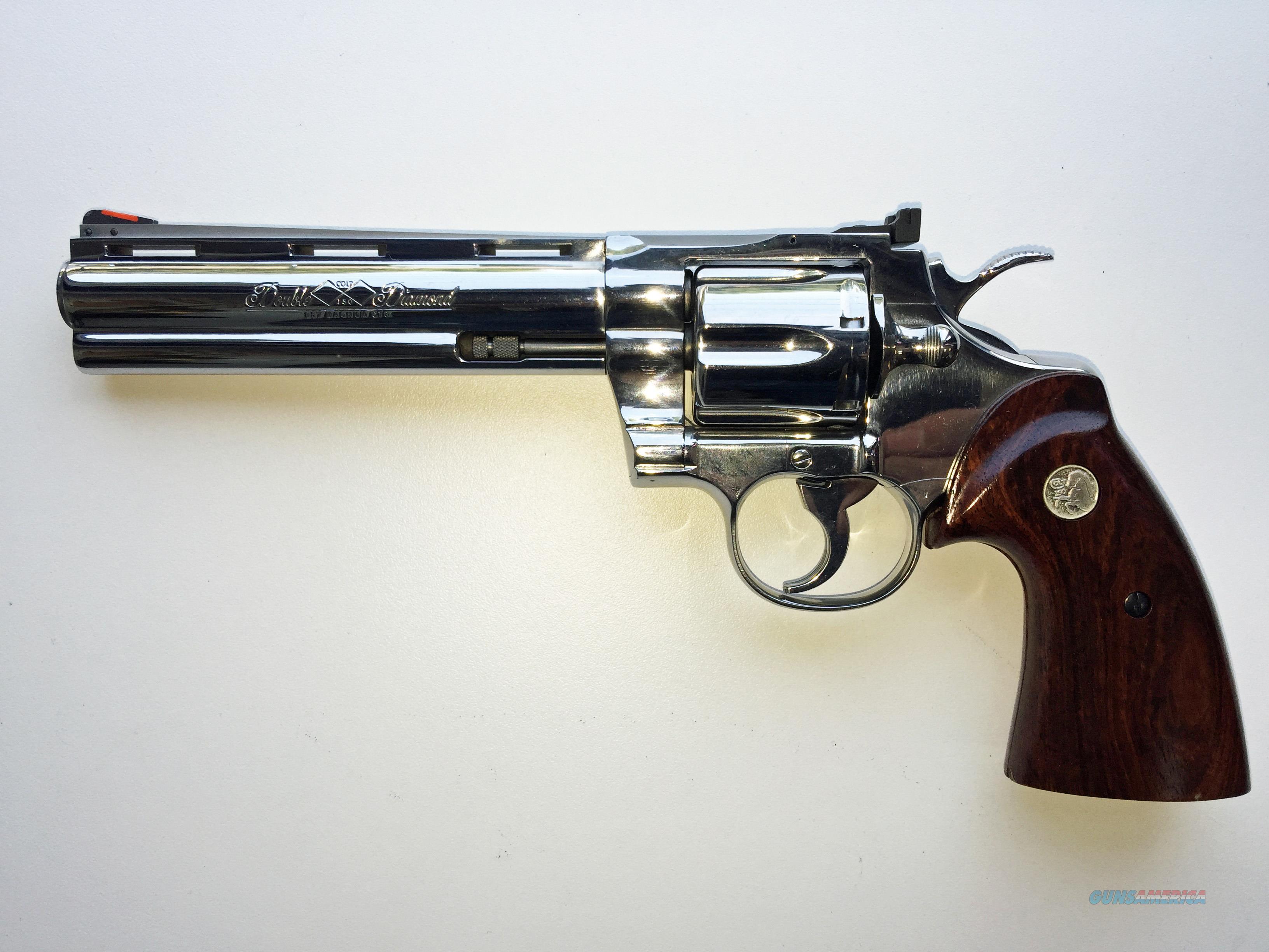 Colt Double Diamond Python  Guns > Pistols > Colt Double Action Revolvers- Modern