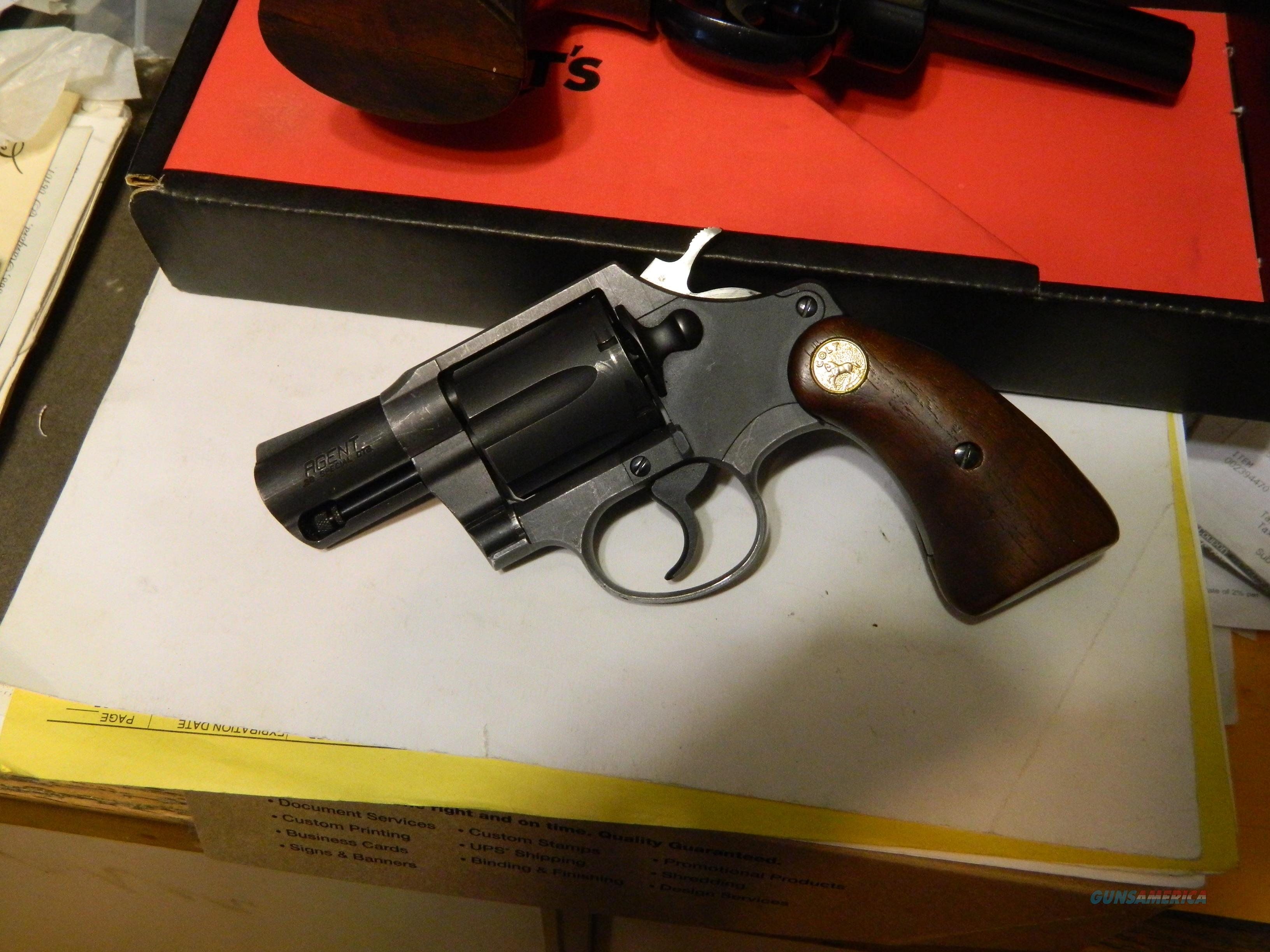 COLT LAST GENERATION AGENT, priced right  Guns > Pistols > Colt Double Action Revolvers- Modern