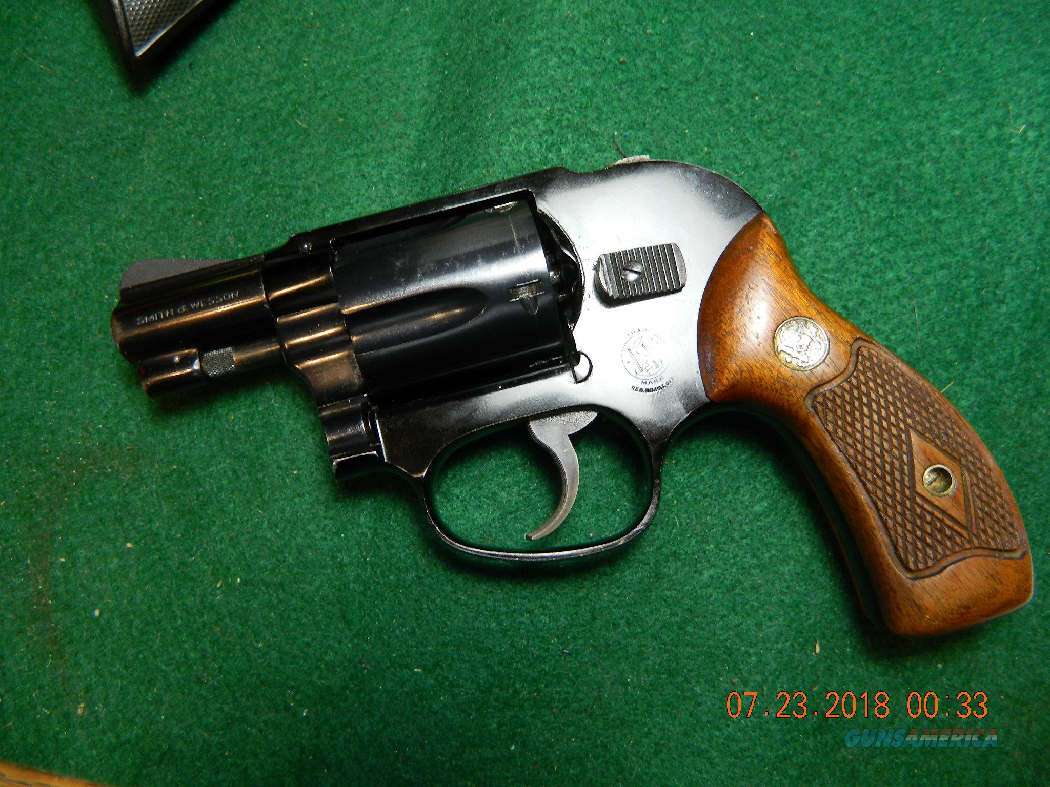 Smith Wesson model 38 Flat latch [old bodyguard]  Guns > Pistols > Smith & Wesson Revolvers > Small Frame ( J )