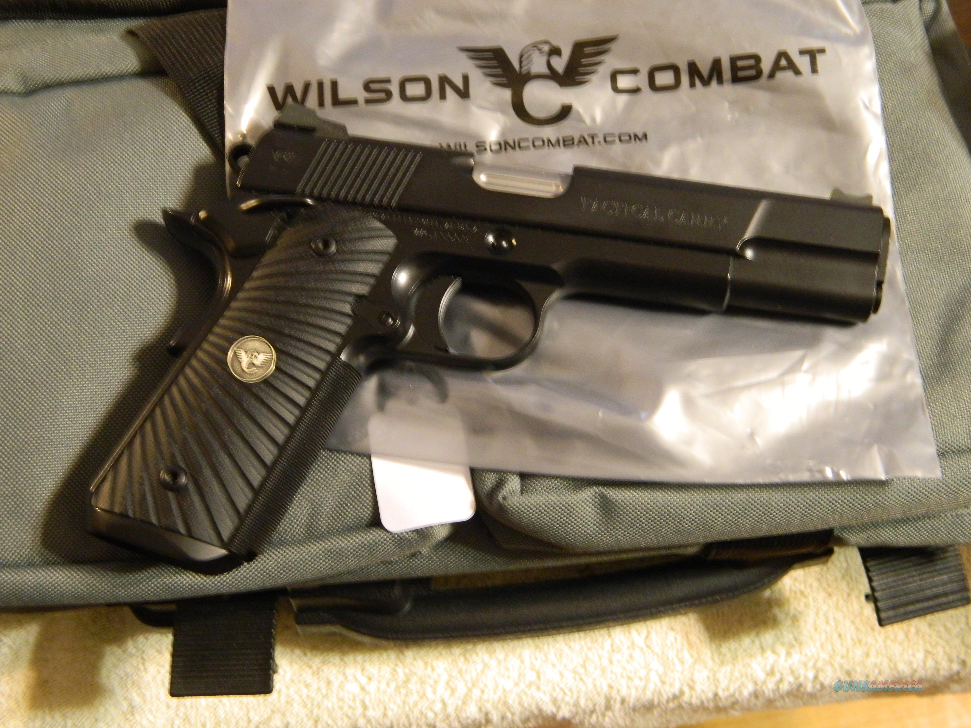 "WILSON TACTICAL CARRY 5"" 9M/M  Guns > Pistols > Wilson Combat Pistols"