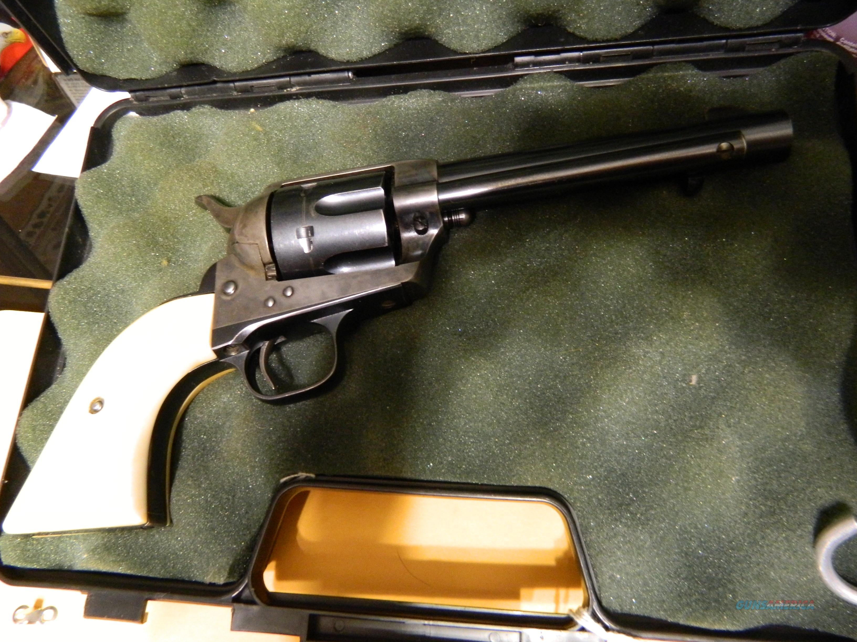 COLT SAA 45 LC MADE IN 1920 W/LETTER  Guns > Pistols > Colt Single Action Revolvers - 1st Gen.